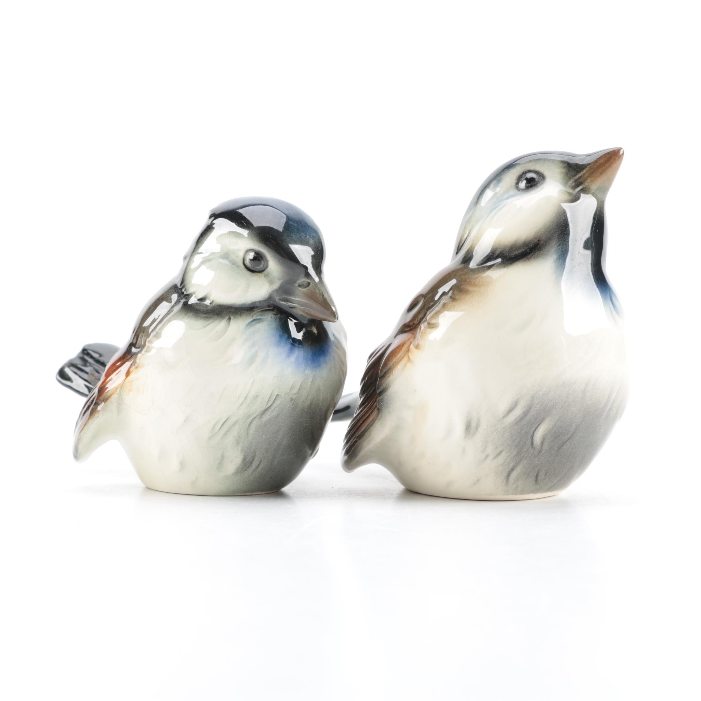 Pair of Goebel Bird Figurines