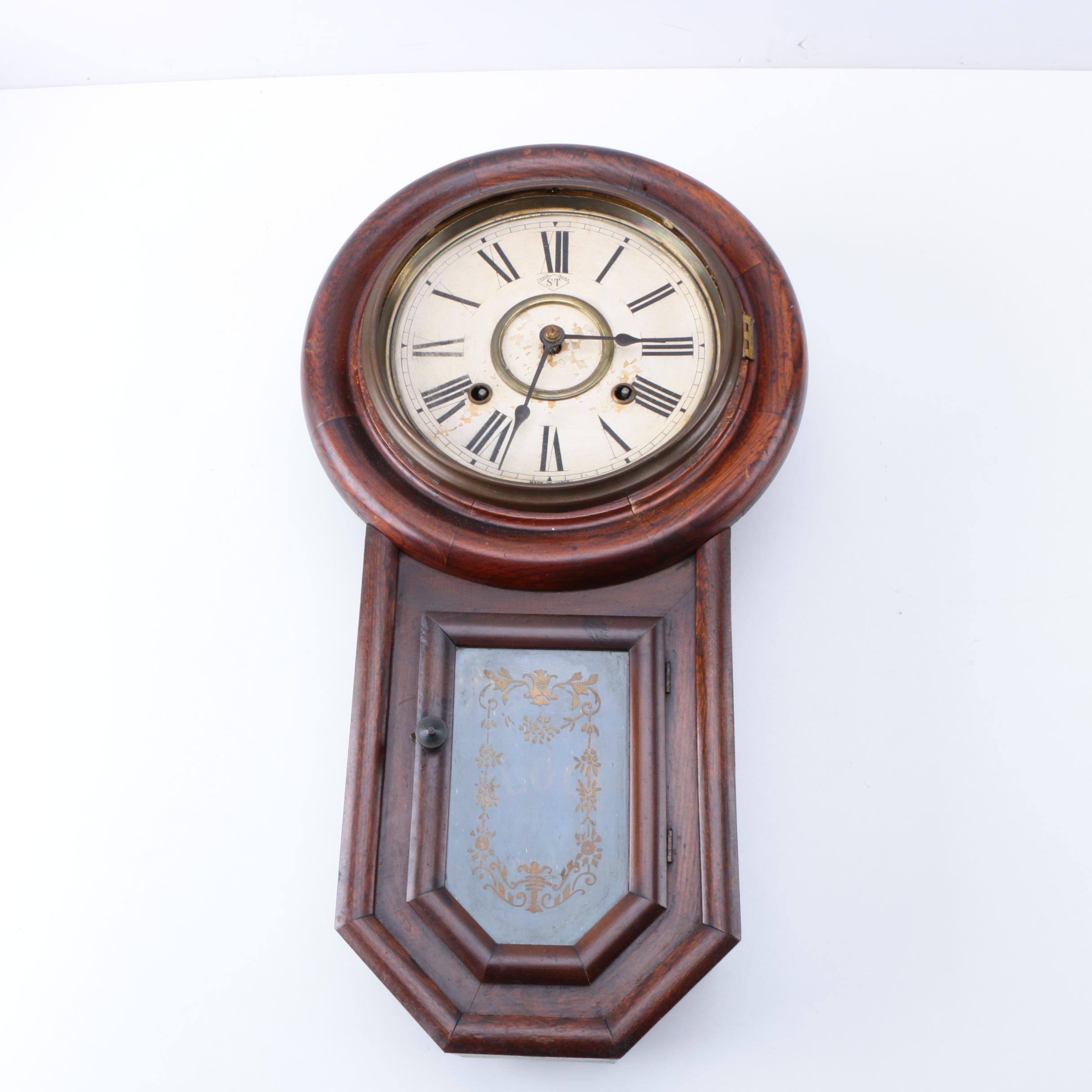 Japanese Vintage Sato's Wall Clock