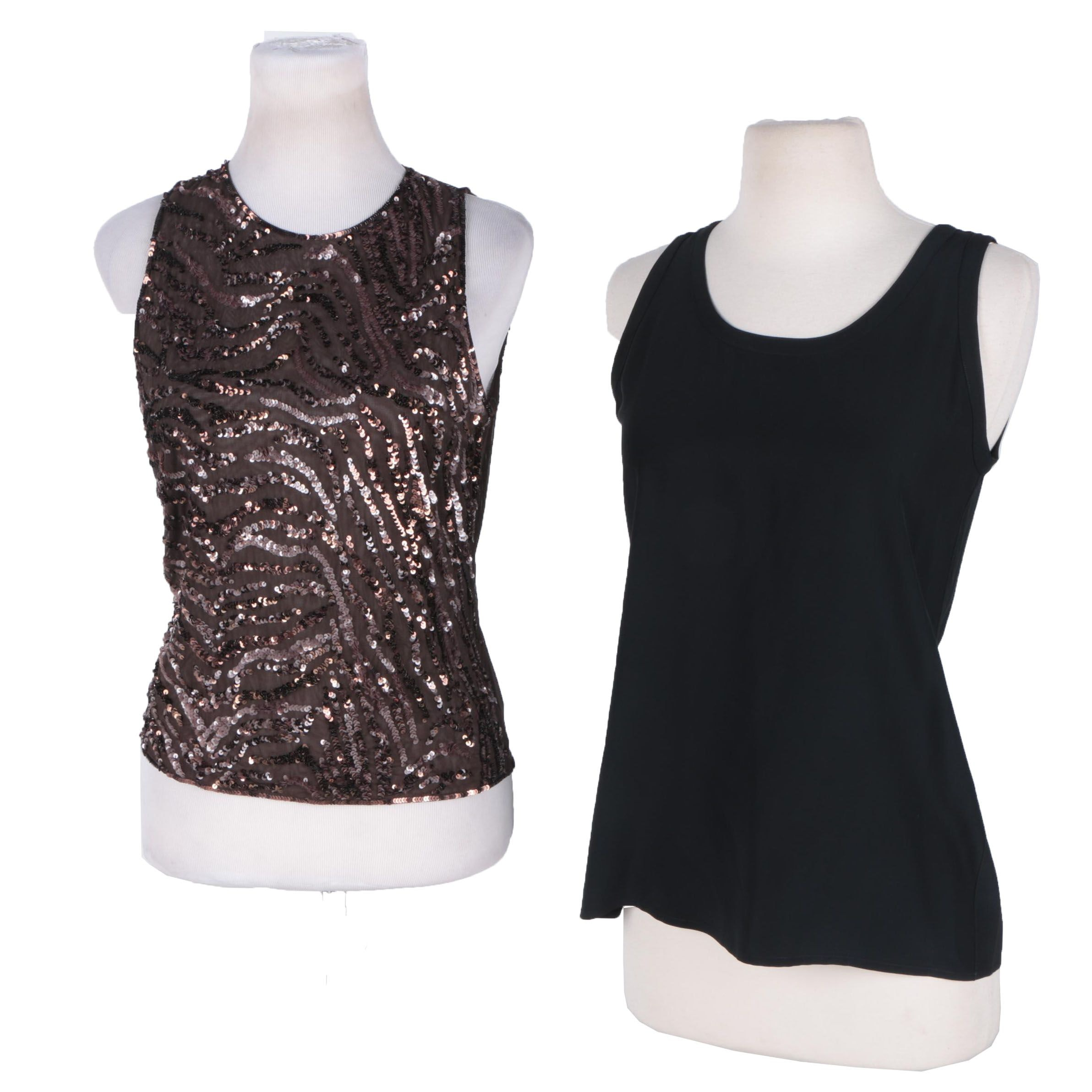 Womens Chanel and Escada Tops