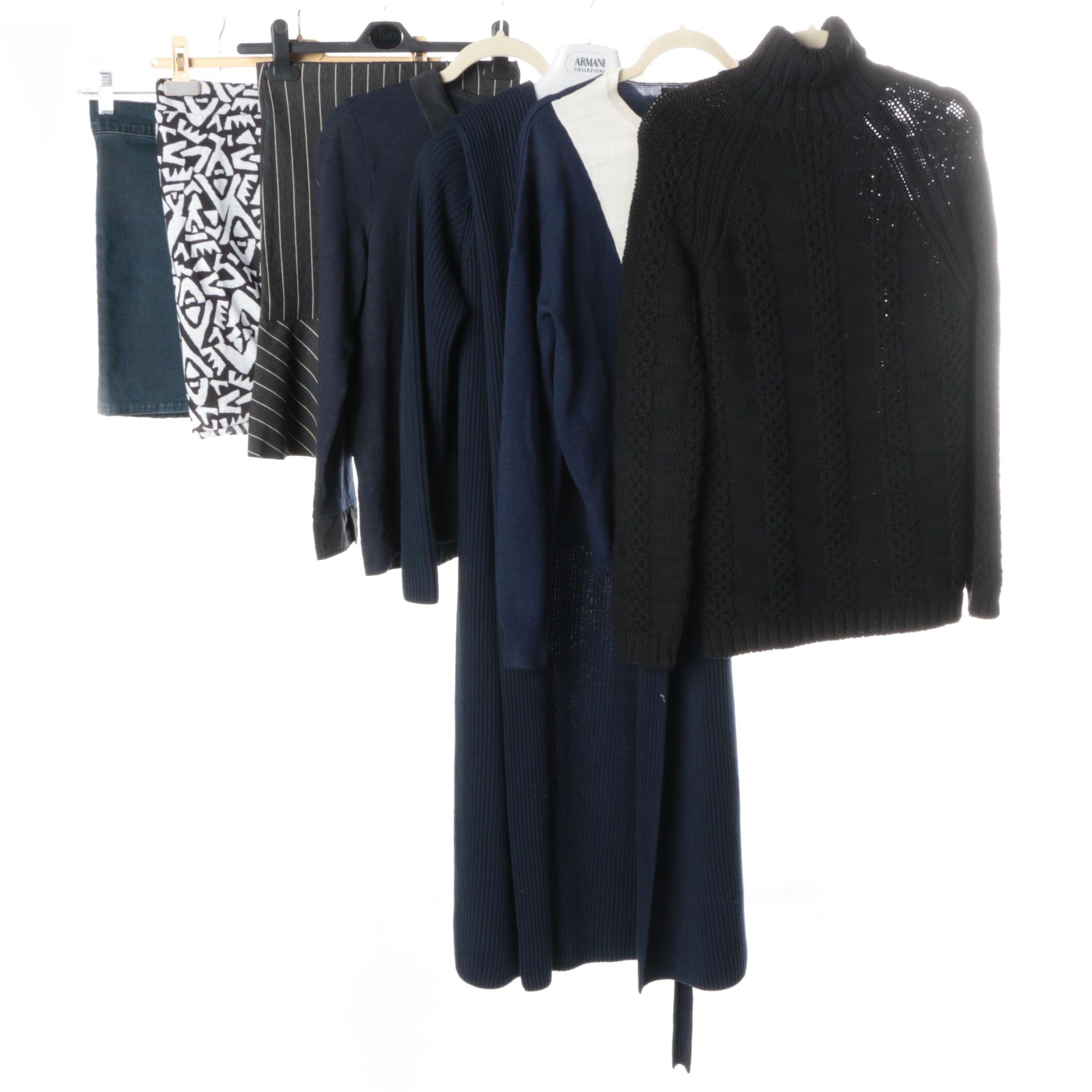 Group of Women's Clothing Including Barneys New York