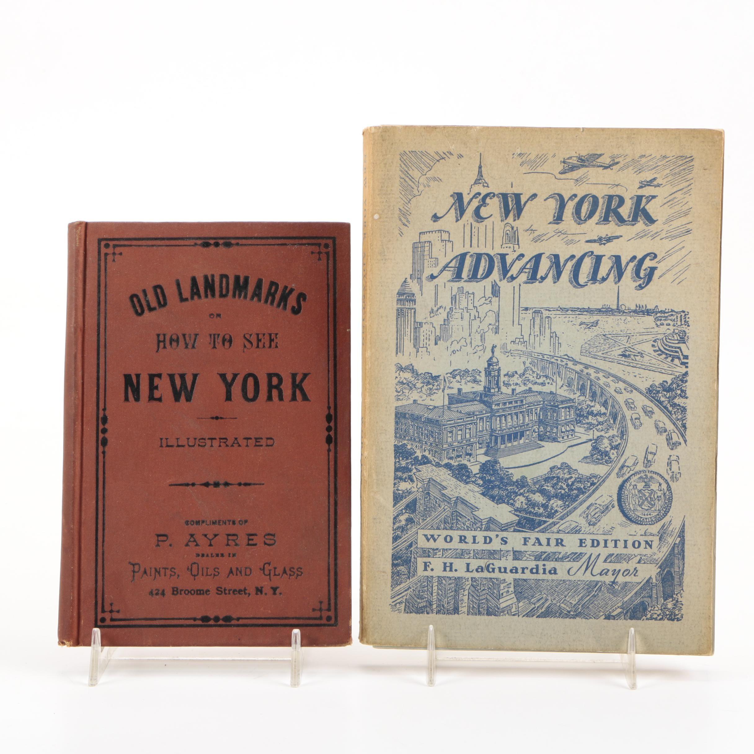 Pair of Books on New York Tourism