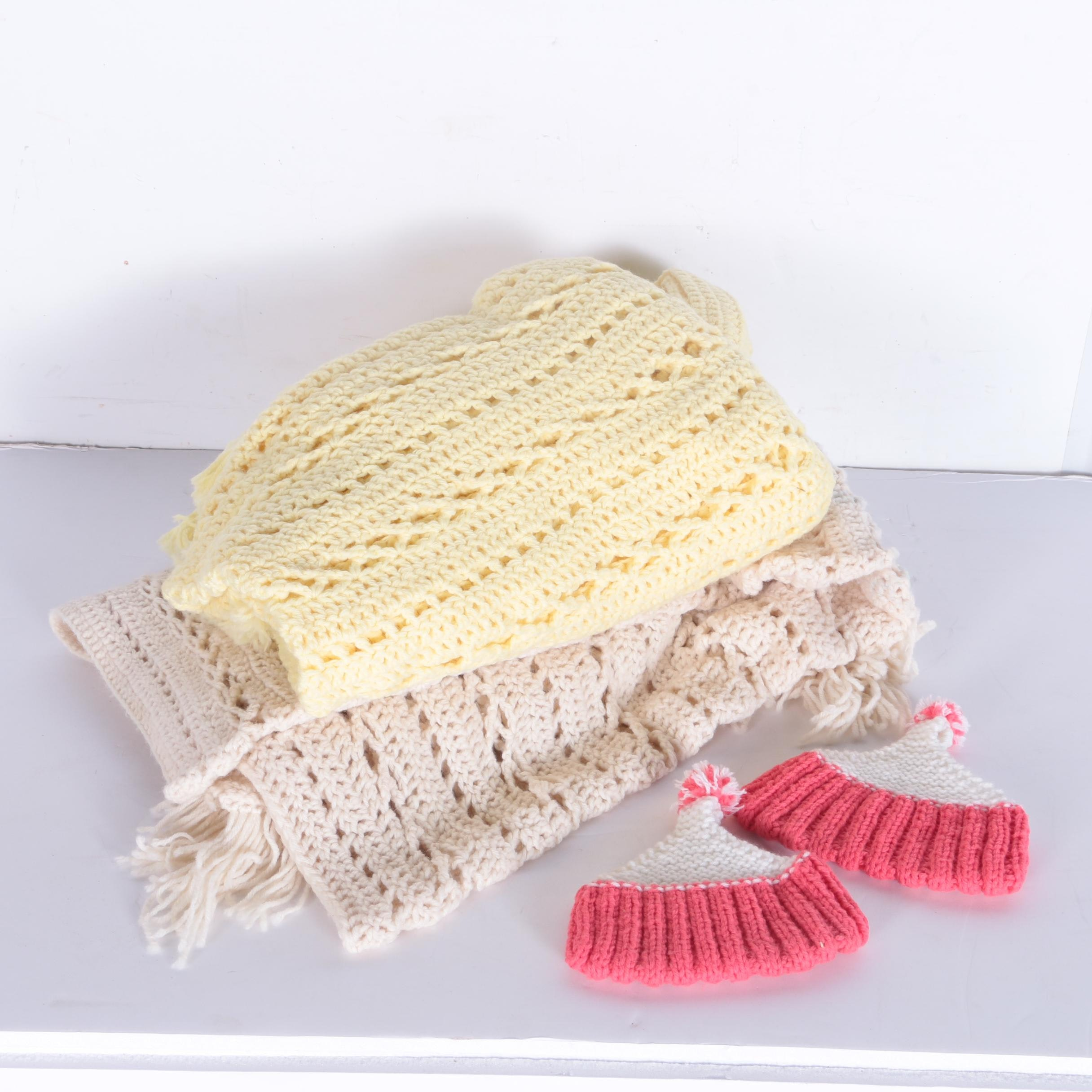 Crocheted Accent Blankets