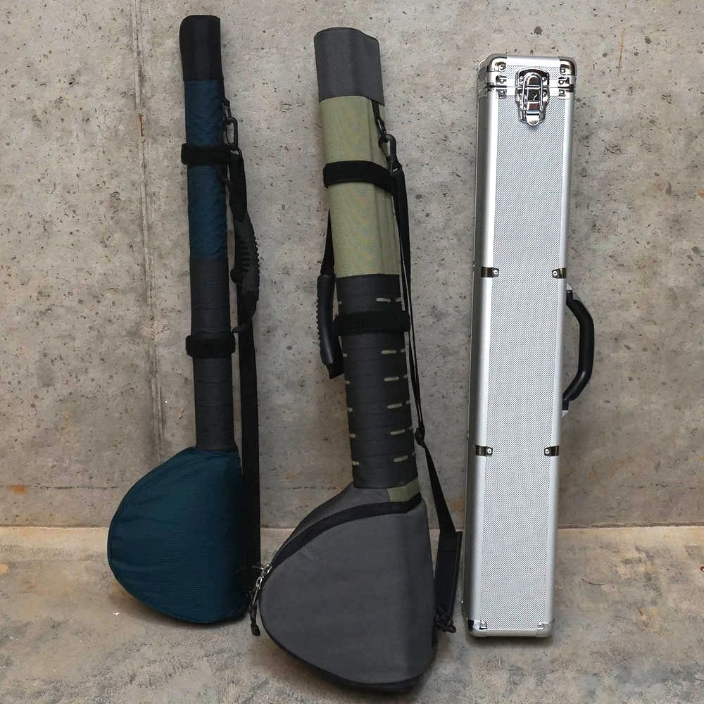 Fishing Rod Travel Cases featuring Made 2 Fly
