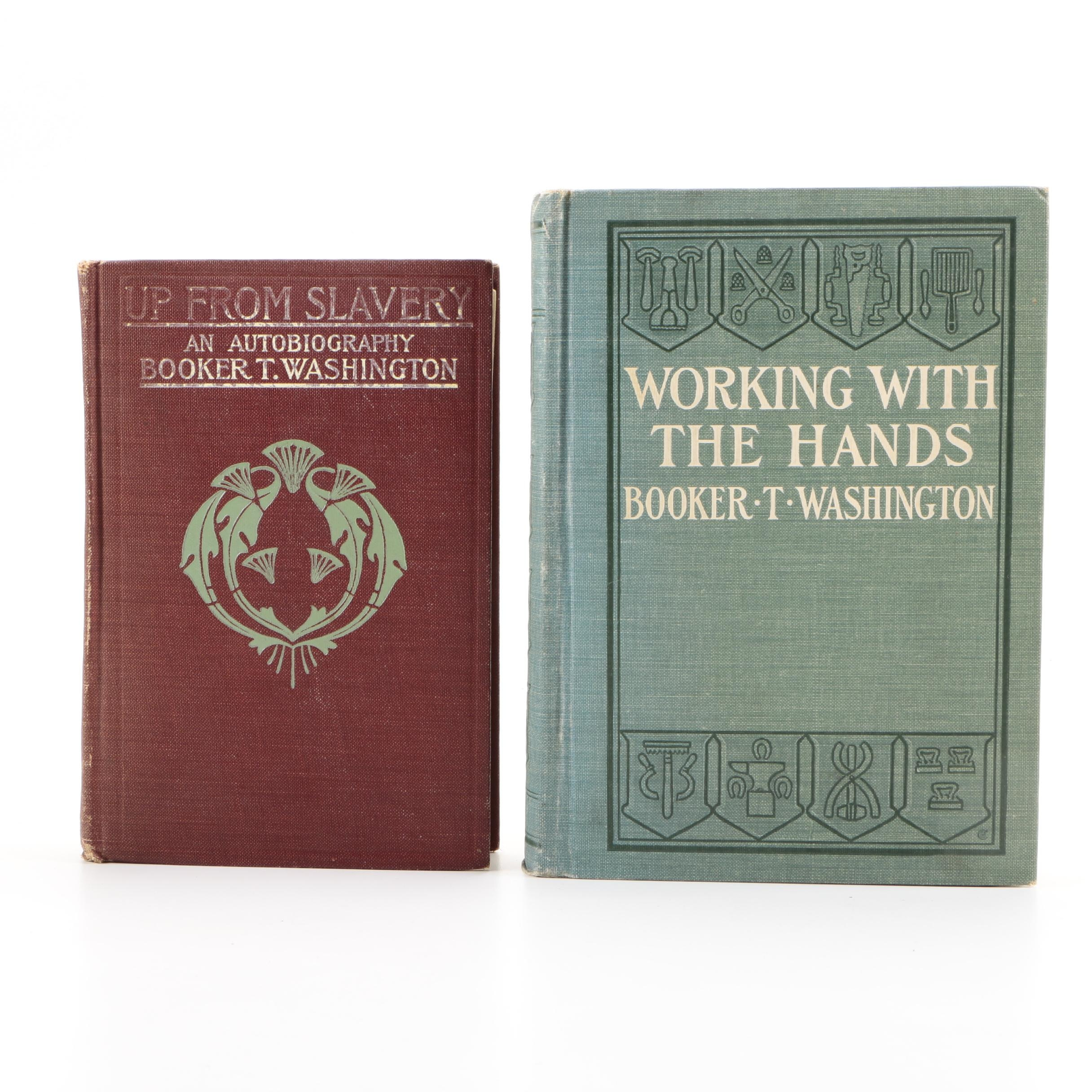 Collection of Antique Hardcover Books by Booker T. Washington