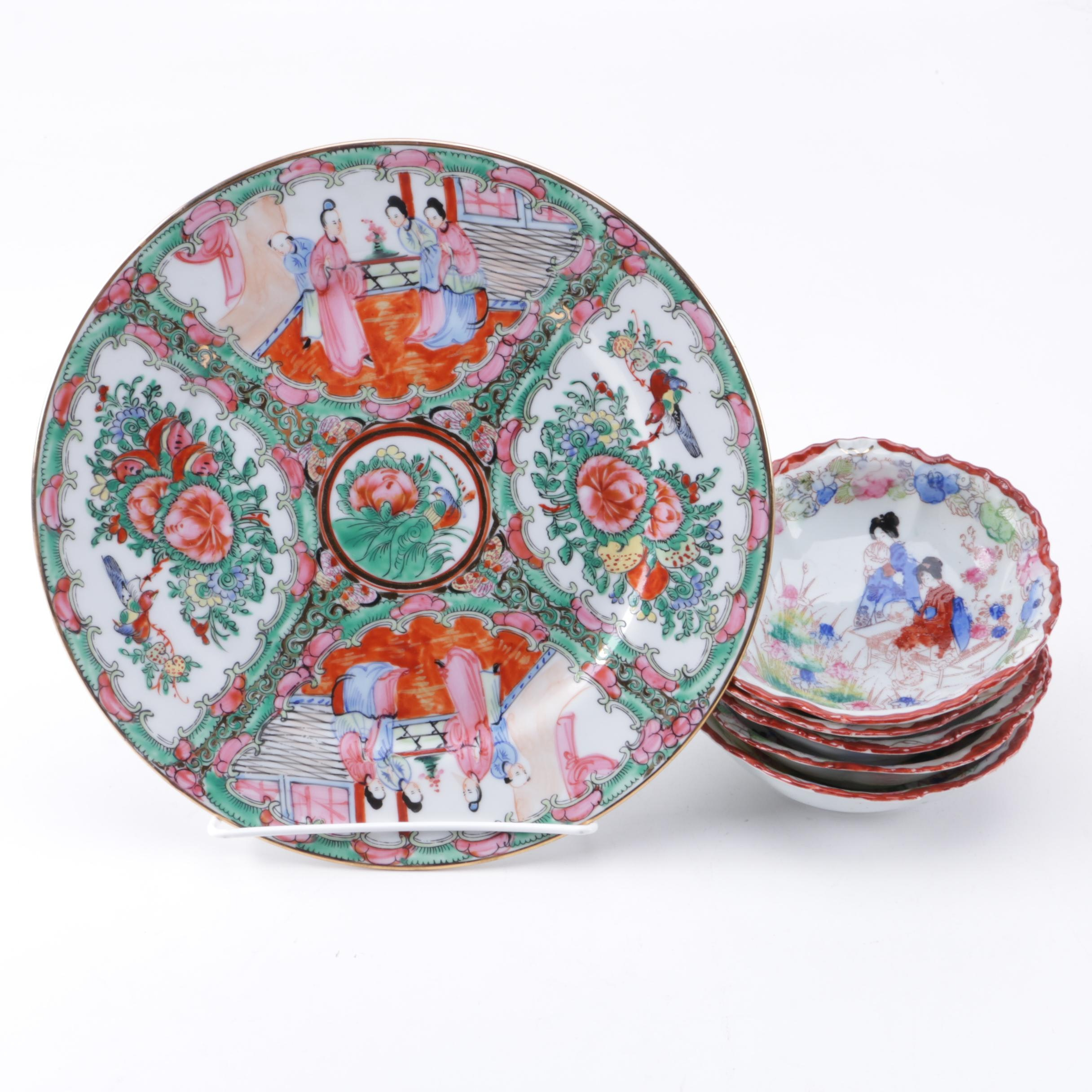 Chinese and Japanese Porcelain Tableware
