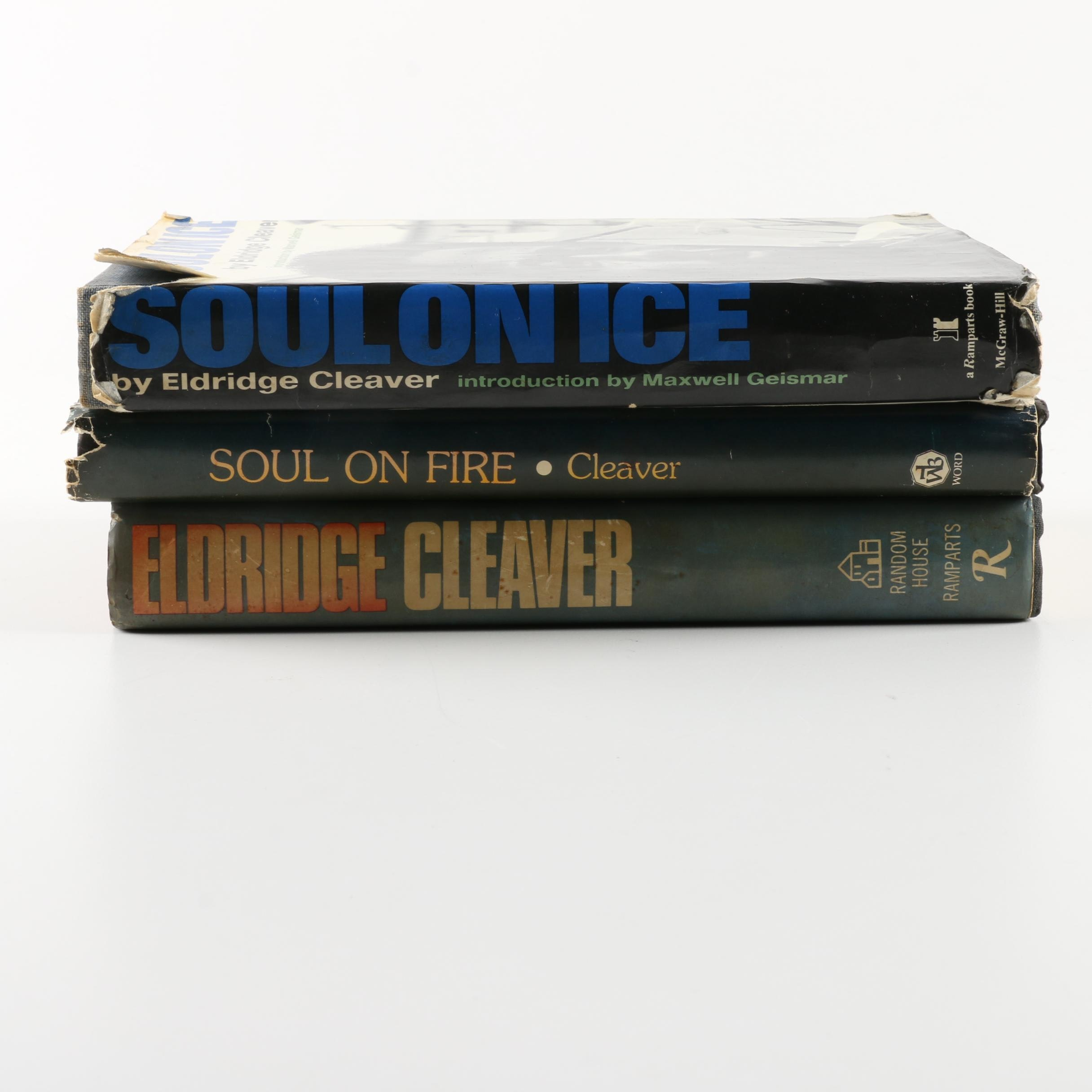Collection of Hardcover Books by Eldridge Cleaver