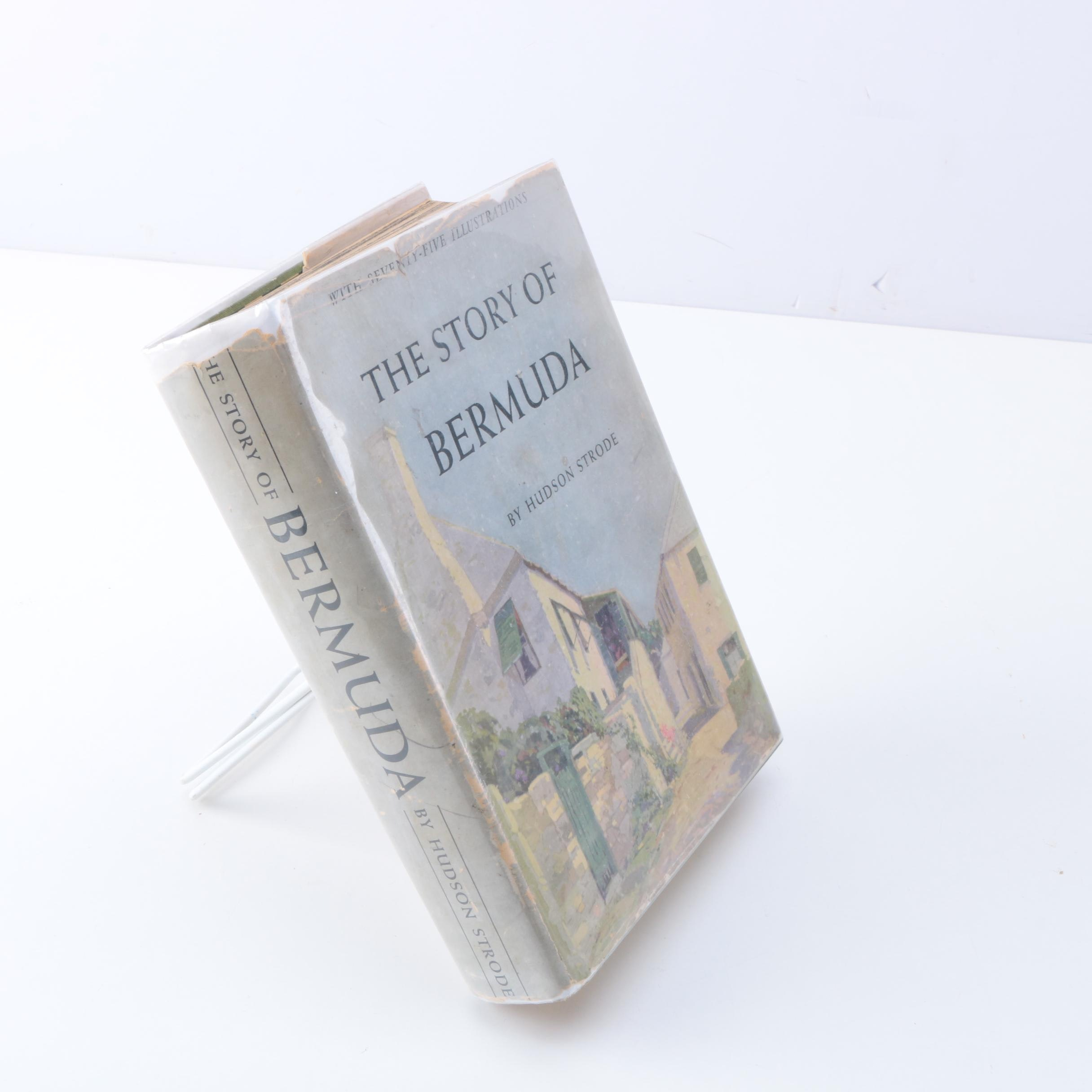 """1932 """"The Story of Bermuda"""" by Hudson Strode"""