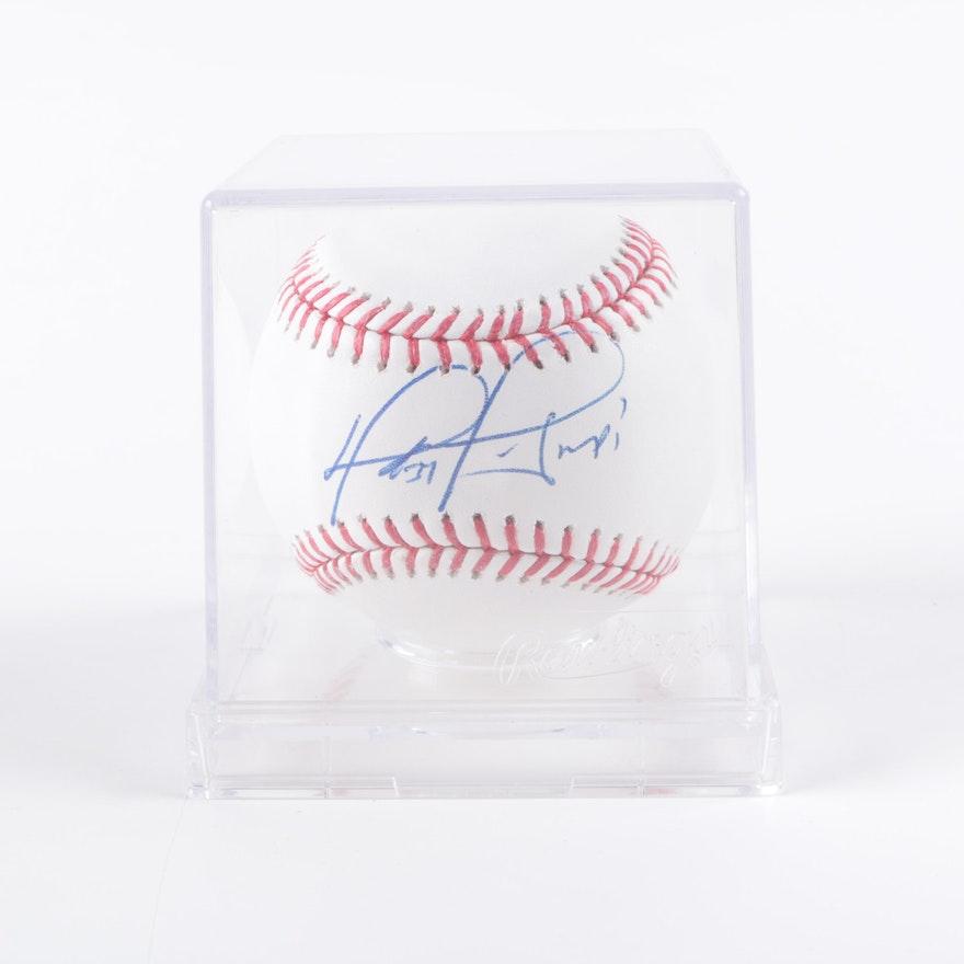 064ecacf31d David Ortiz Autographed Baseball - JSA COA   EBTH