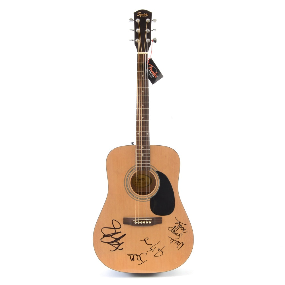 Fitz and The Tantrums Signed Acoustic Guitar with COA