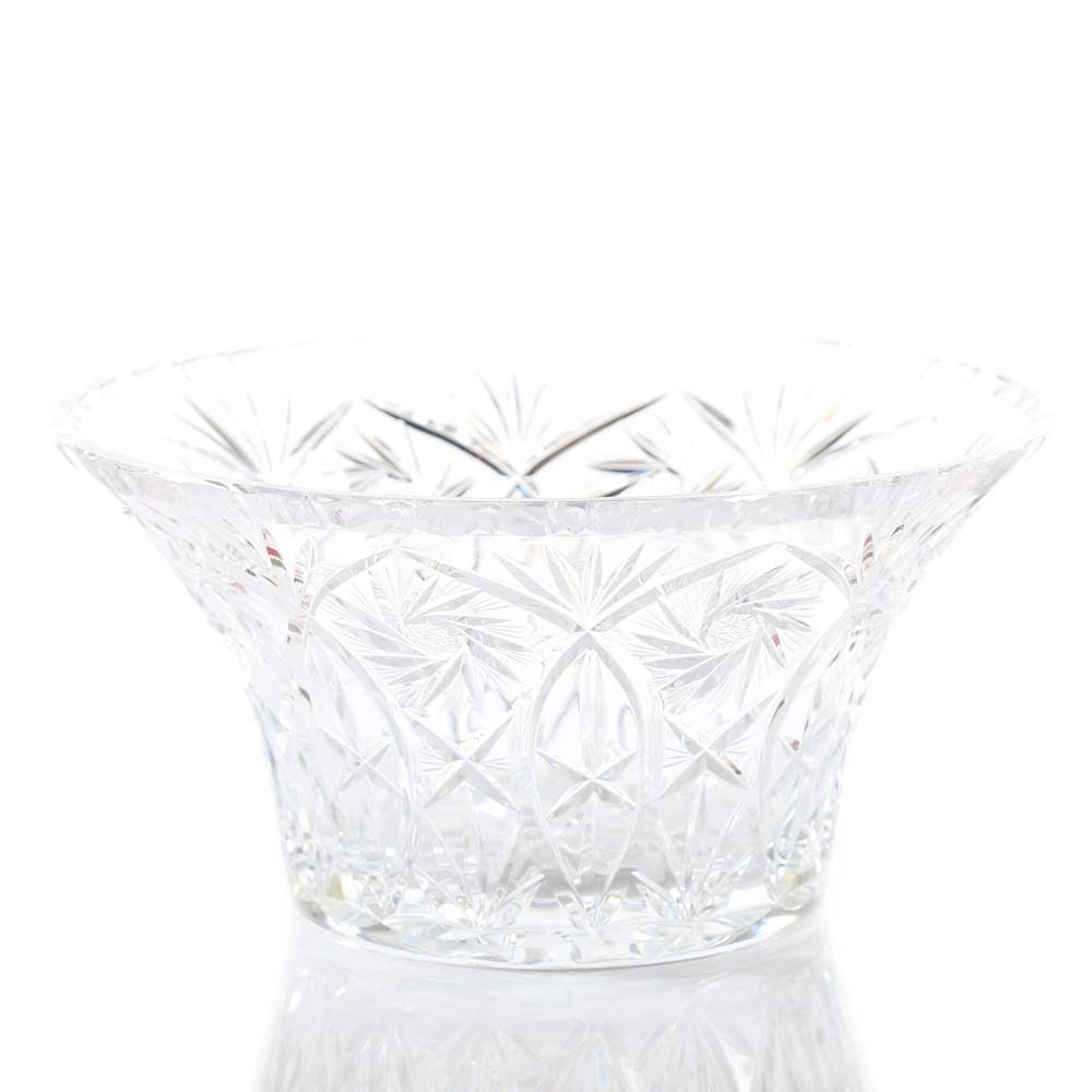 Brunswick Star Cut Crystal Bowl