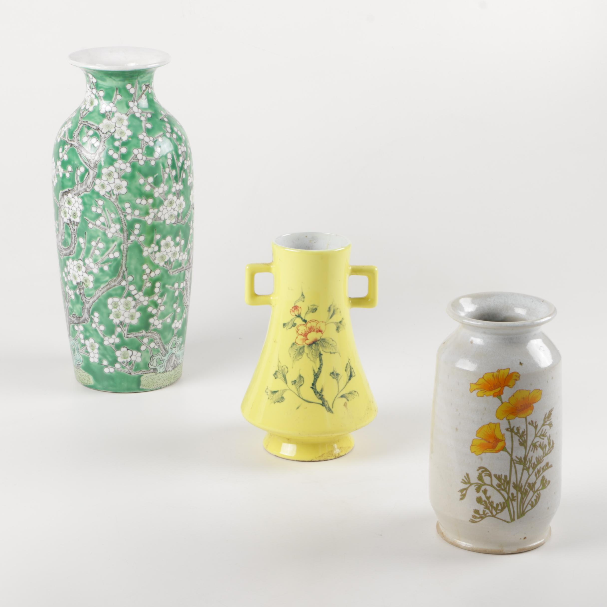 Assorted Chinese Vases