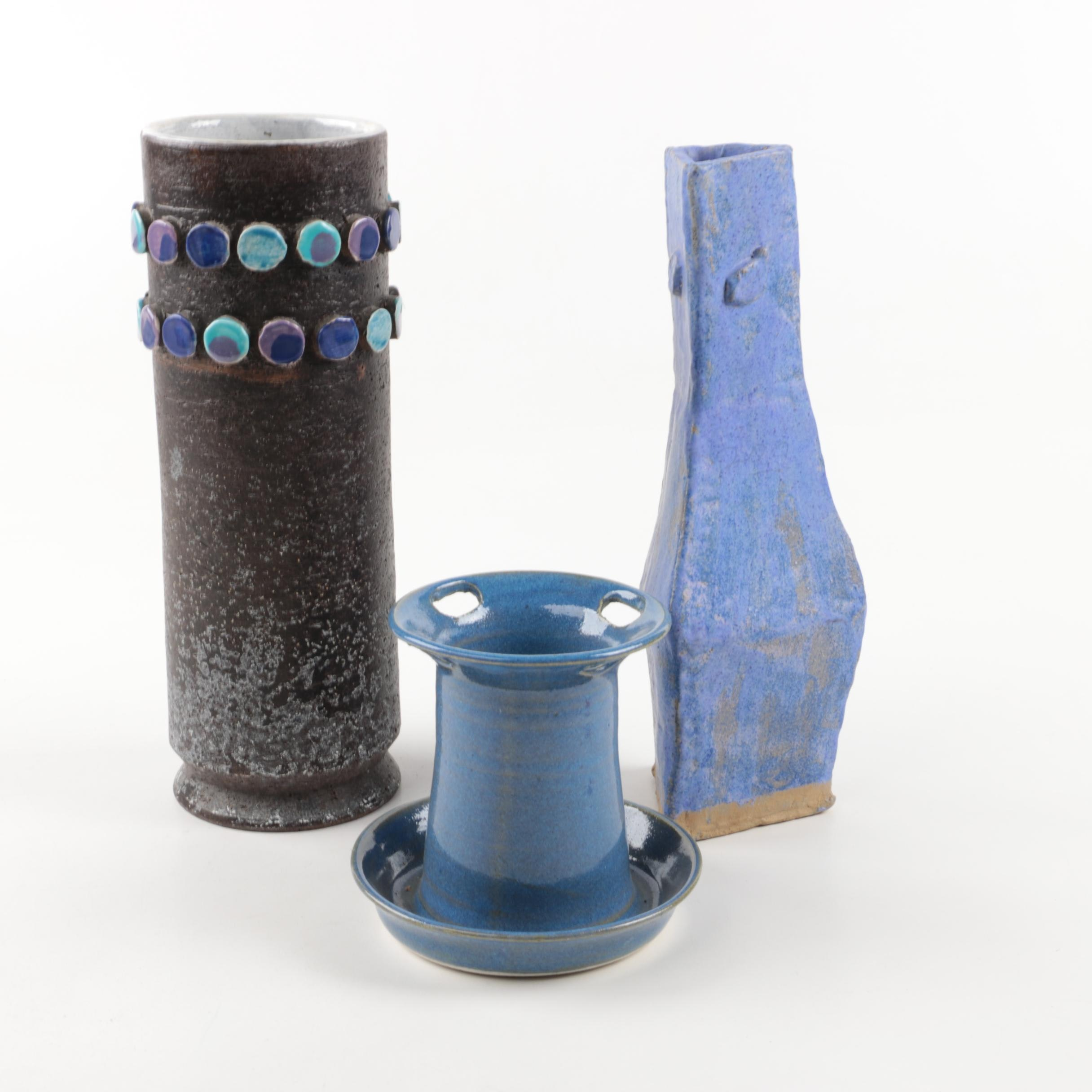 Hand Built and Thrown Ceramic Vessels