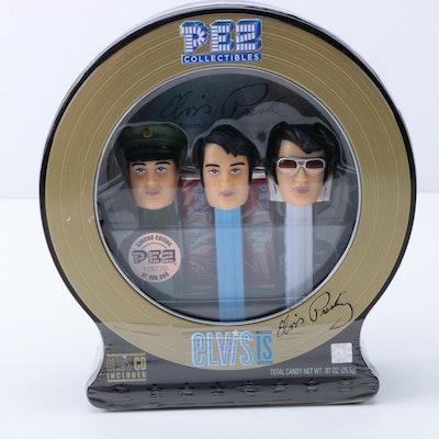 Set of Elvis Presley Limited Edition Collectors Pez Dispensers
