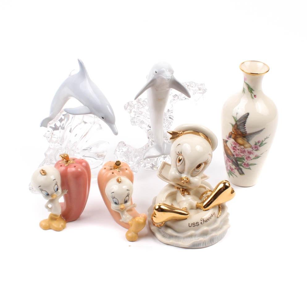 Lenox Porcelain and Crystal