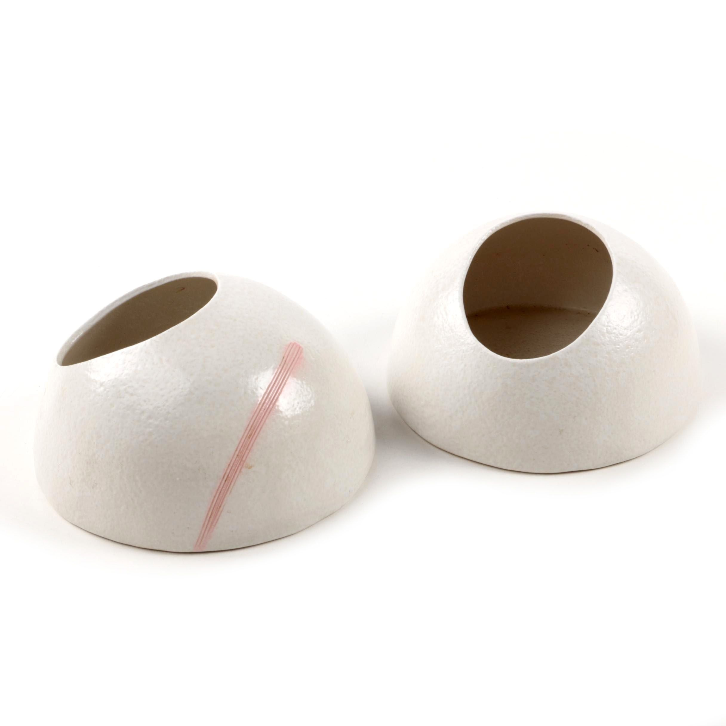 Contemporary Japanese Art Pottery Planters