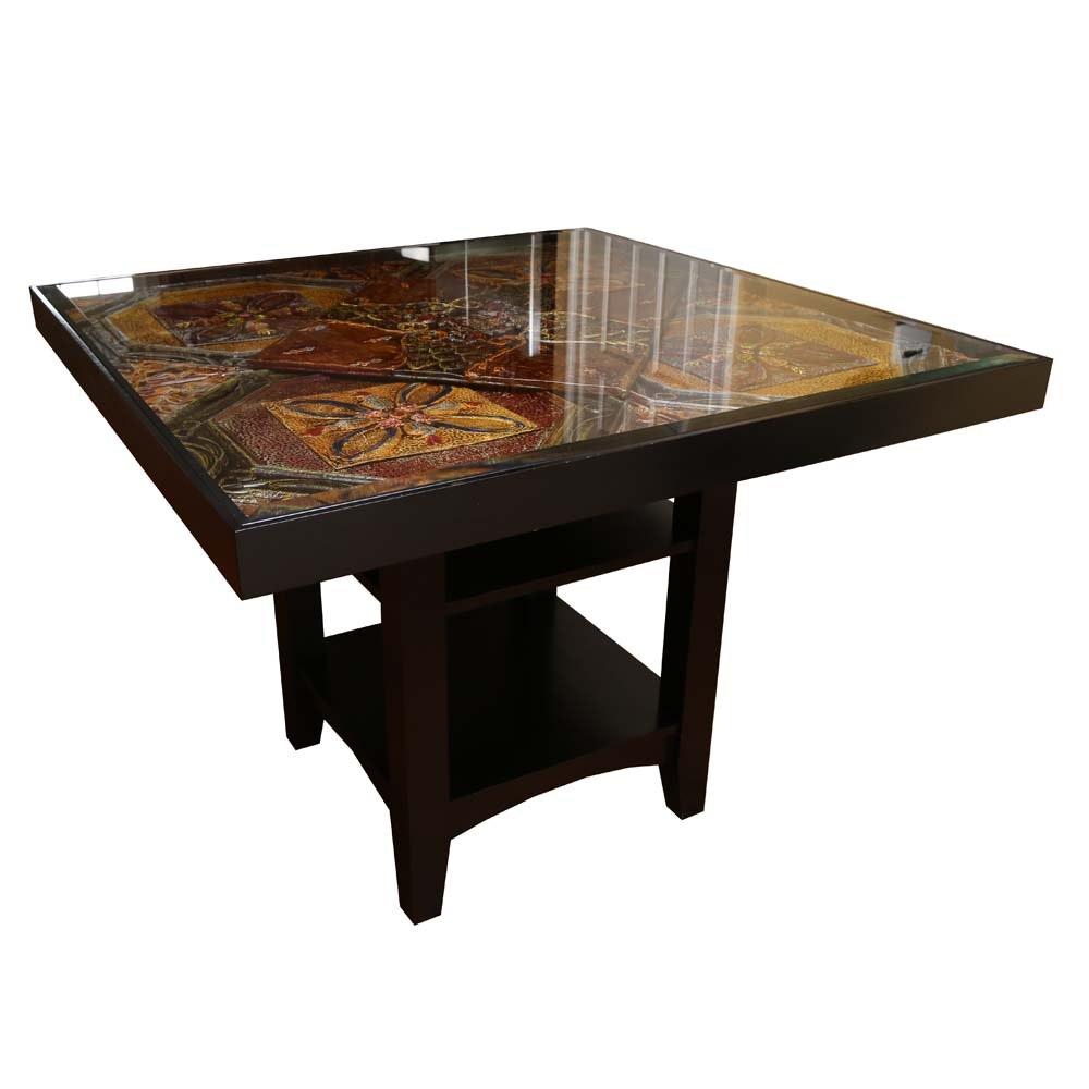 "Custom Hightop Table by Kenny ""The Tin Man"" Hoff"