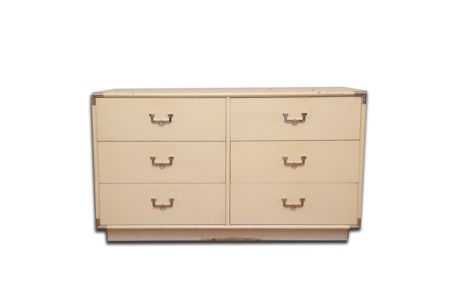 White Laminate Chest of Drawers