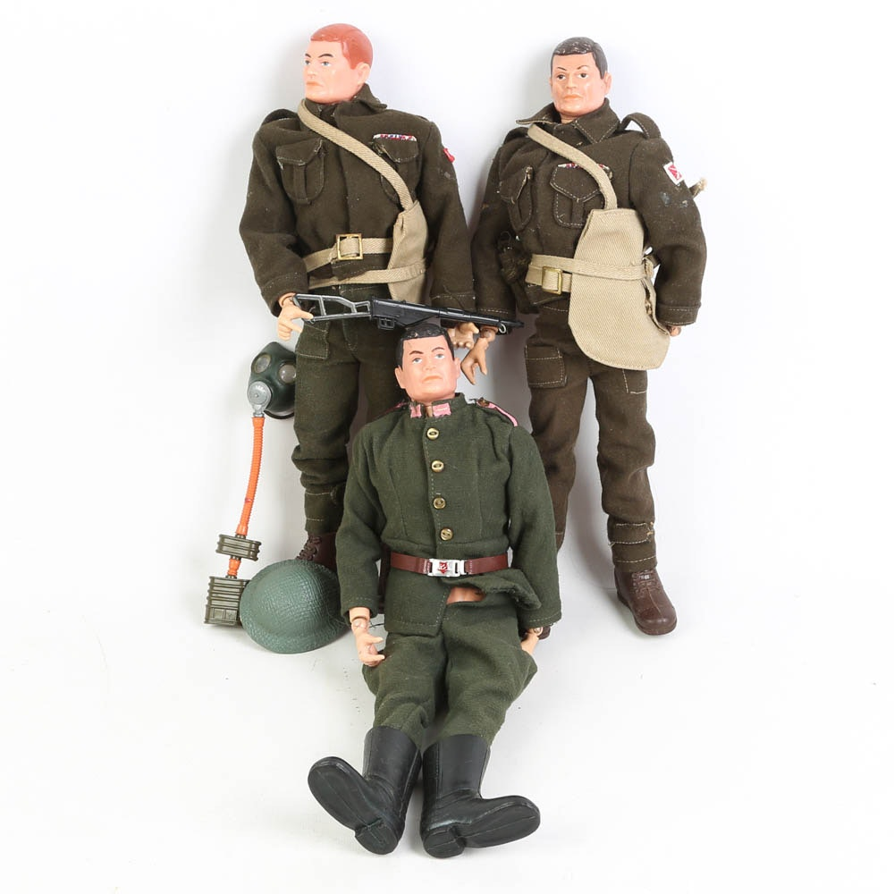 Circa 1960s G.I. Joe Foreign Soldier Action Figures