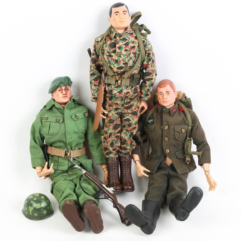 Vintage 1966 G.I. Joe Action Figures