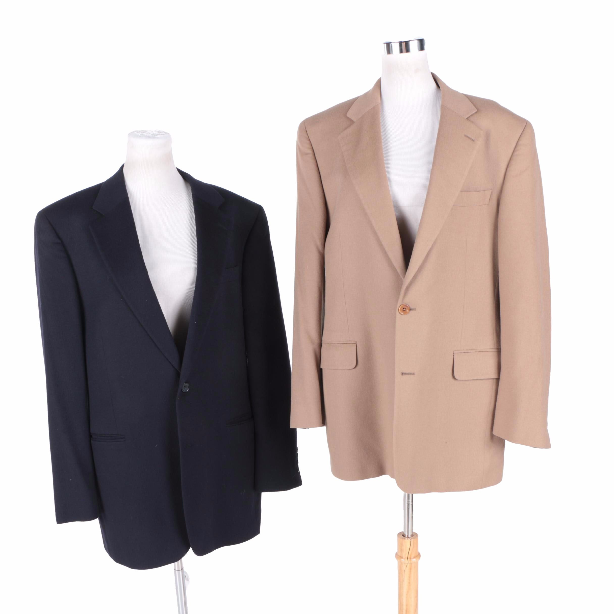 Men's Cashmere Suit Jackets
