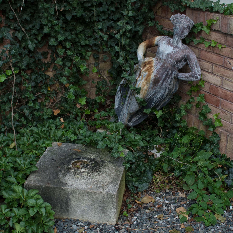 Cast Metal Greco-Roman Style Sculpture