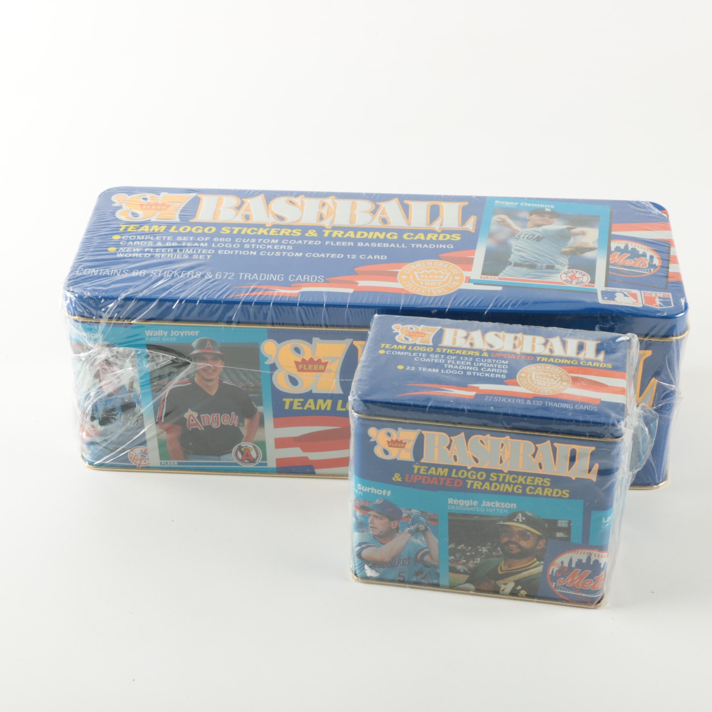 Fleer 1987 Baseball Card Collection