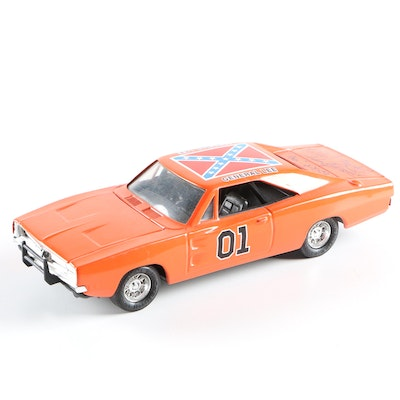 "1981 Ertl ""The Dukes of Hazzard"" General Lee Car Signed by John Schneider"