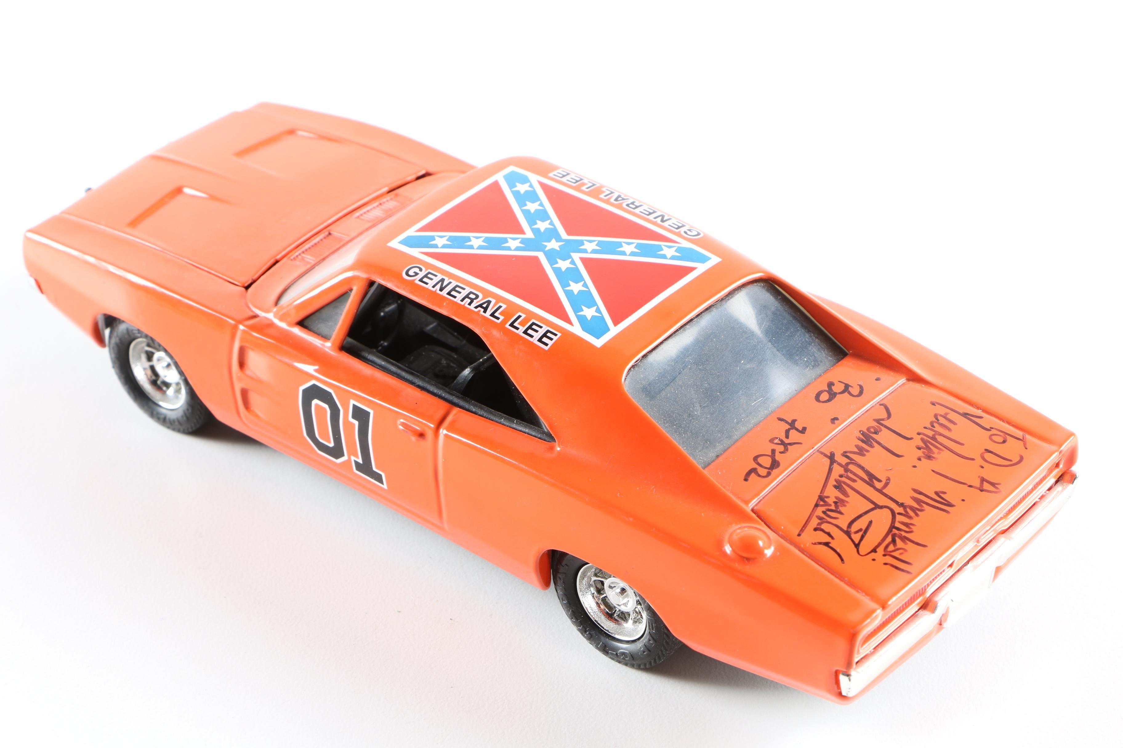 "1981 Ertl ""The Dukes of Hazzard"" General Lee Car Signed by ... The Dukes Of Hazzard 2017 Car"