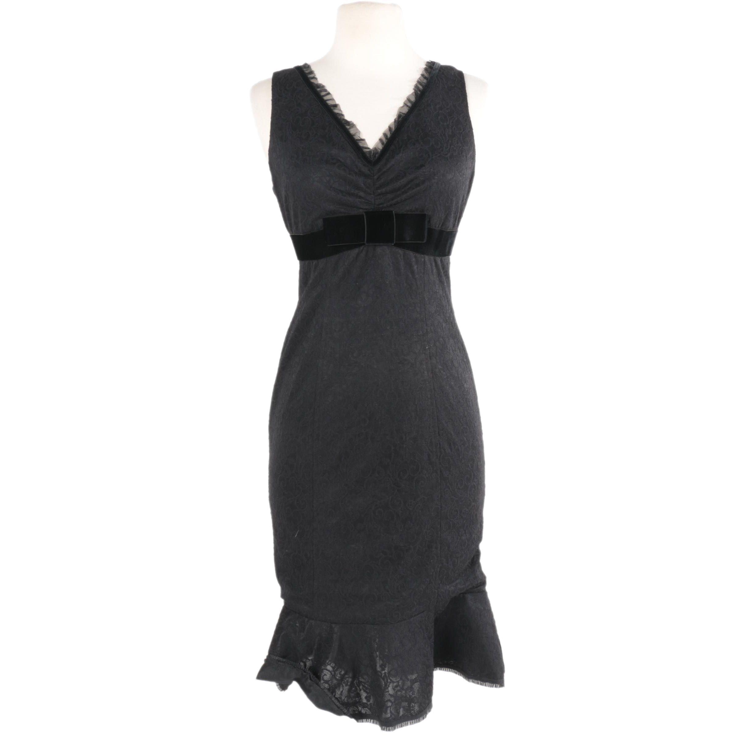 Betsey Johnson Black Dress