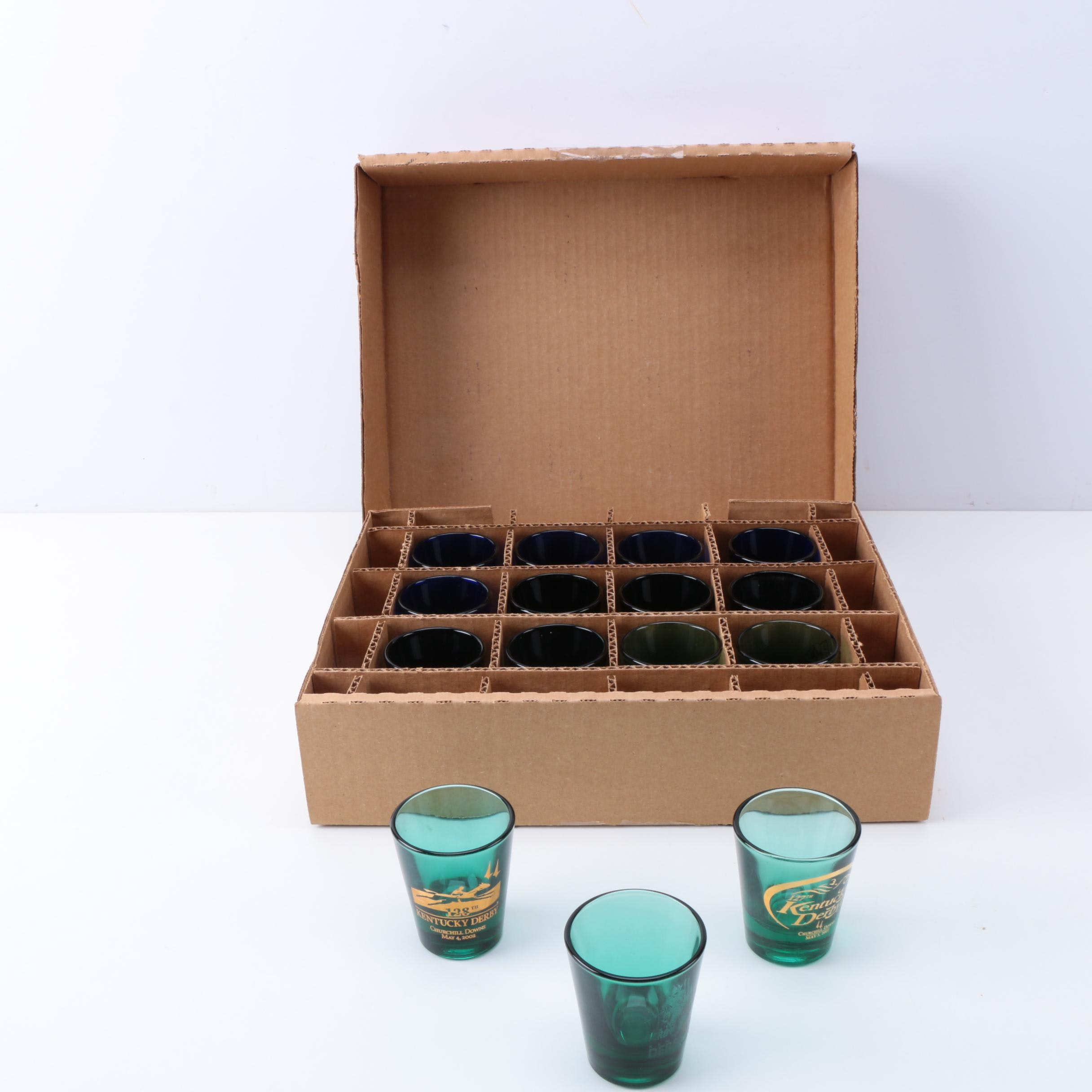 Kentucky Derby Commemorative Shotglasses