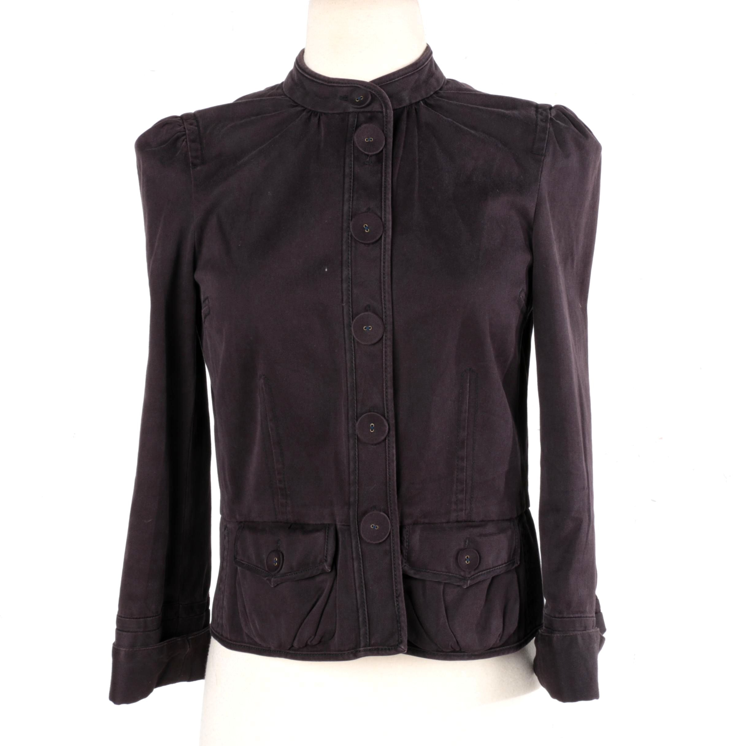 Marc Jacobs Dark Indigo Jacket