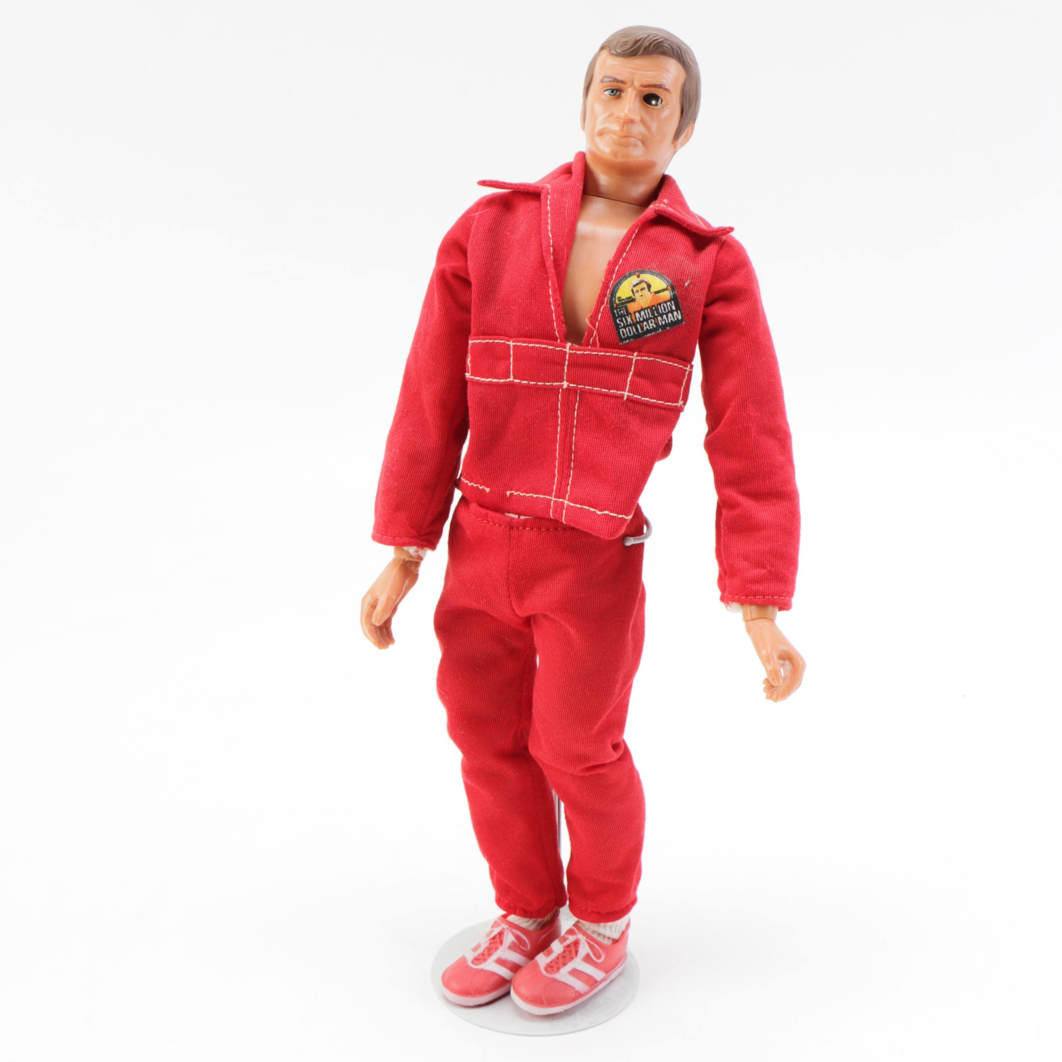 Vintage Six Million Dollar Man Doll