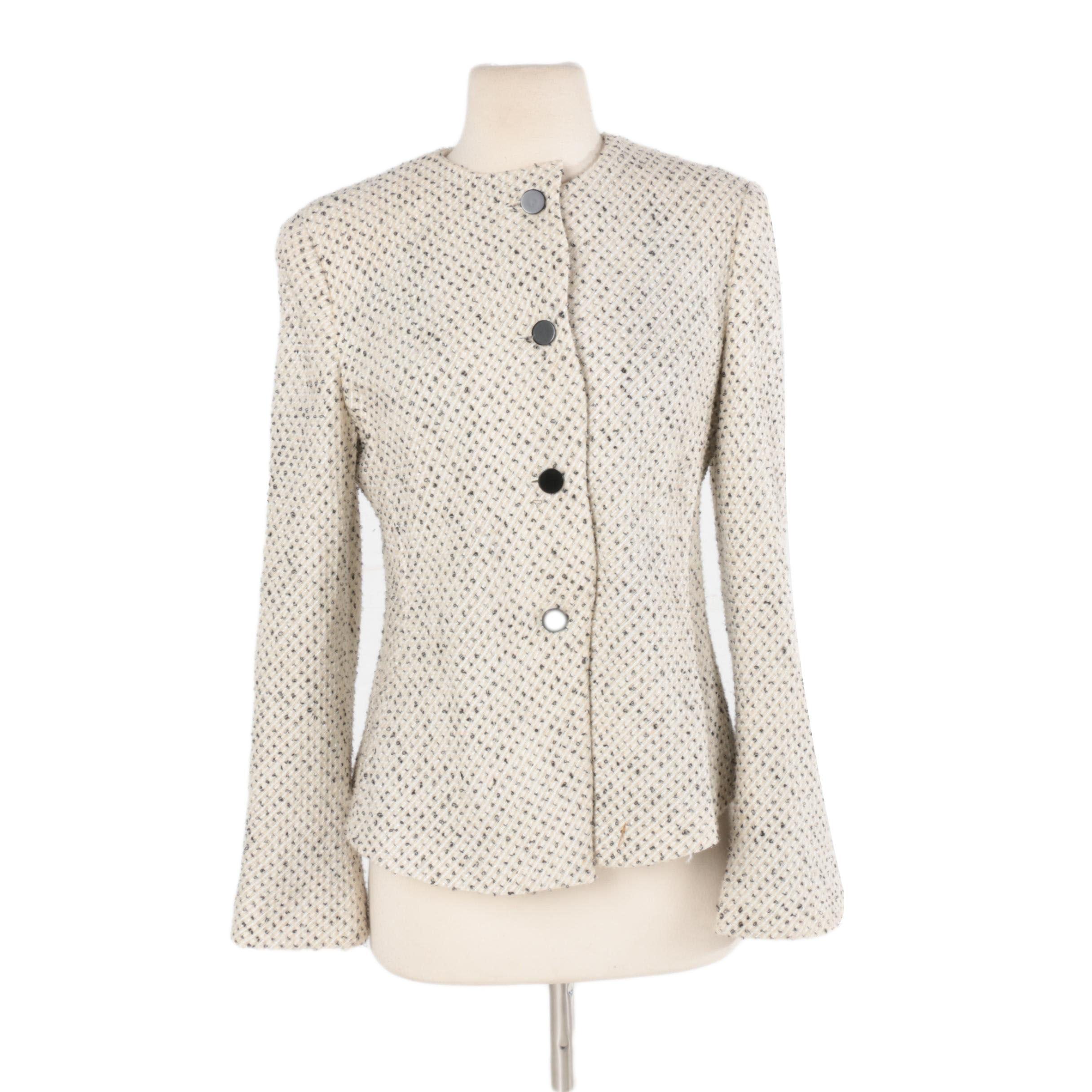 Women's Armani Collezioni Tweed Jacket