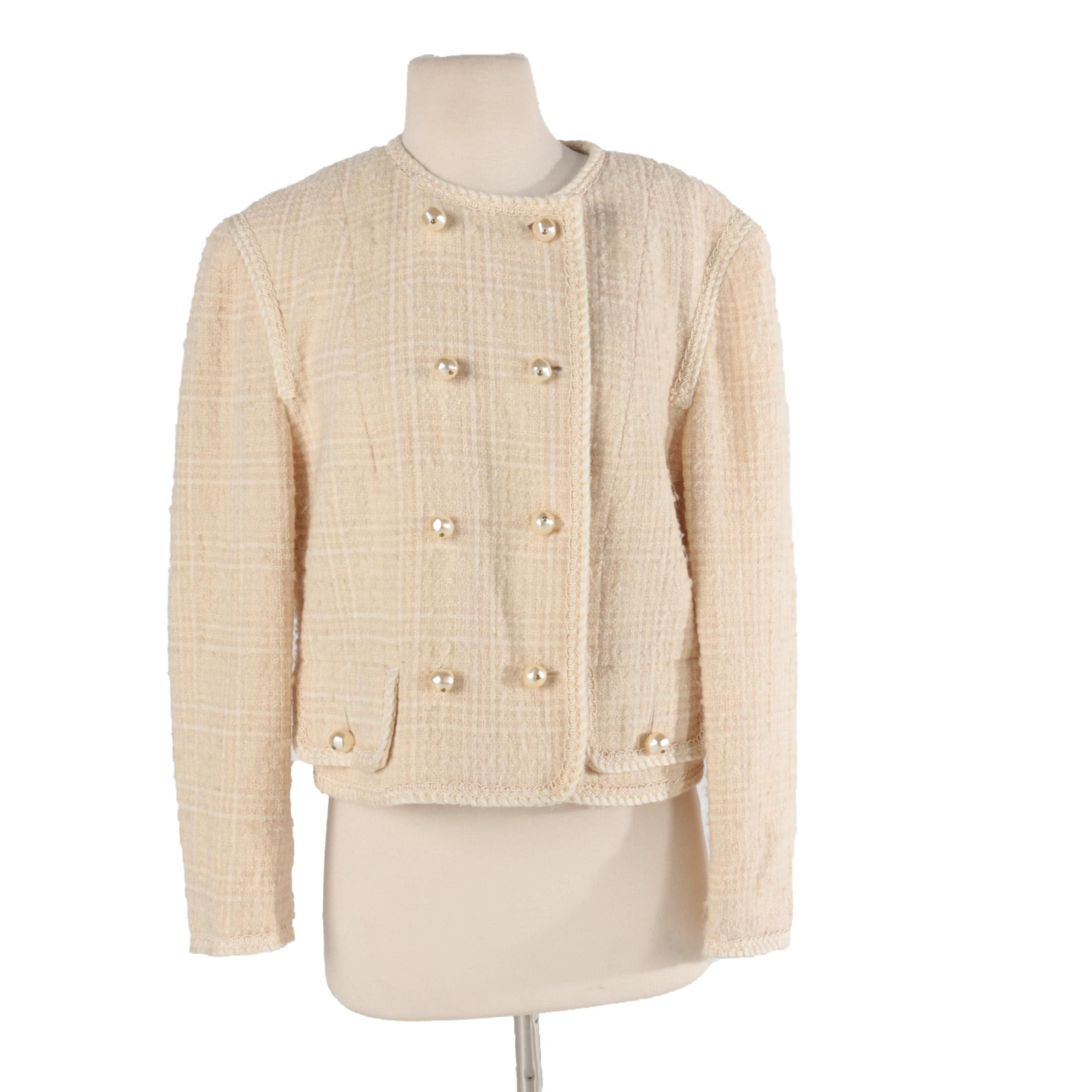 Women's Louis Feraud Tweed Jacket