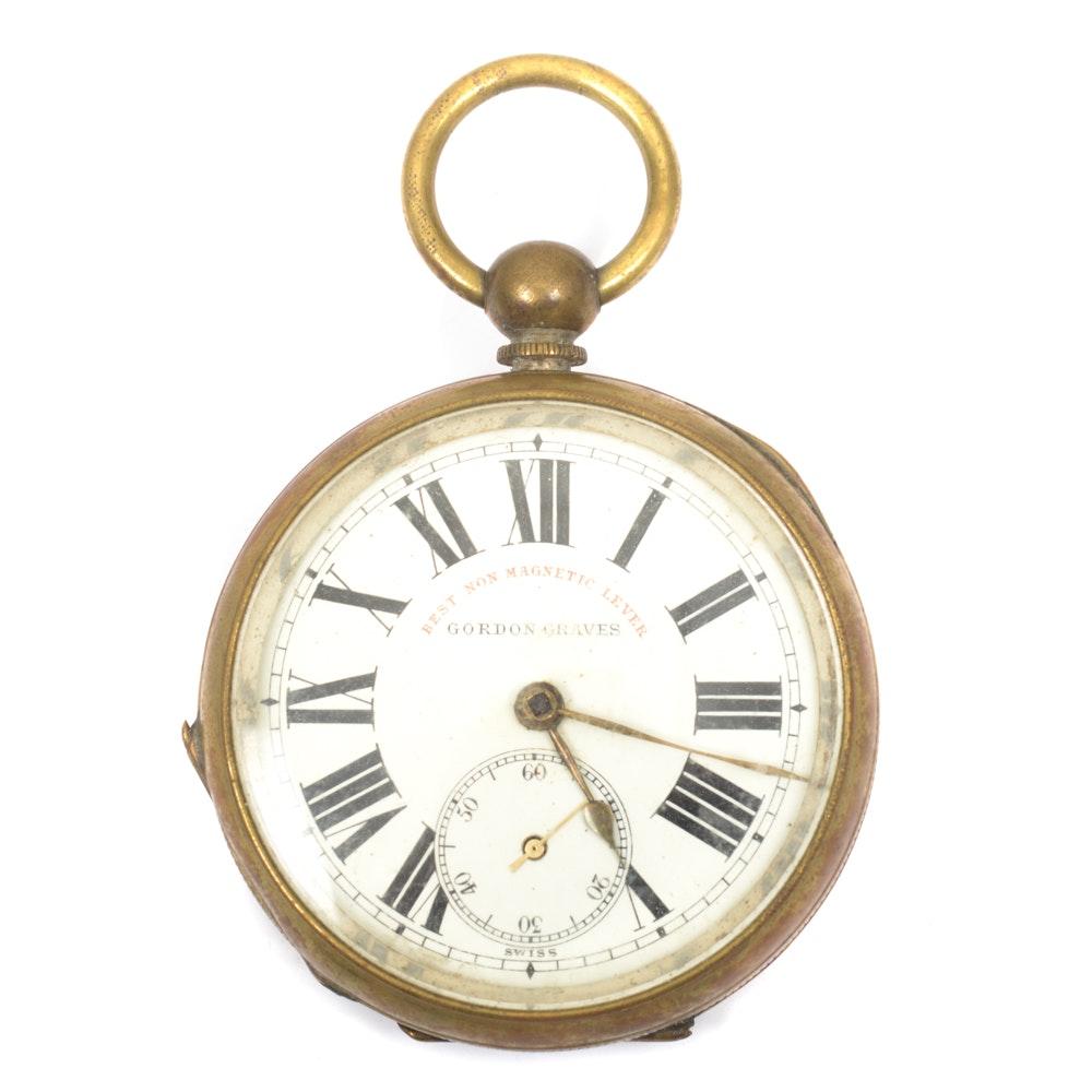 Vintage Gordon Graves Pocket Watch