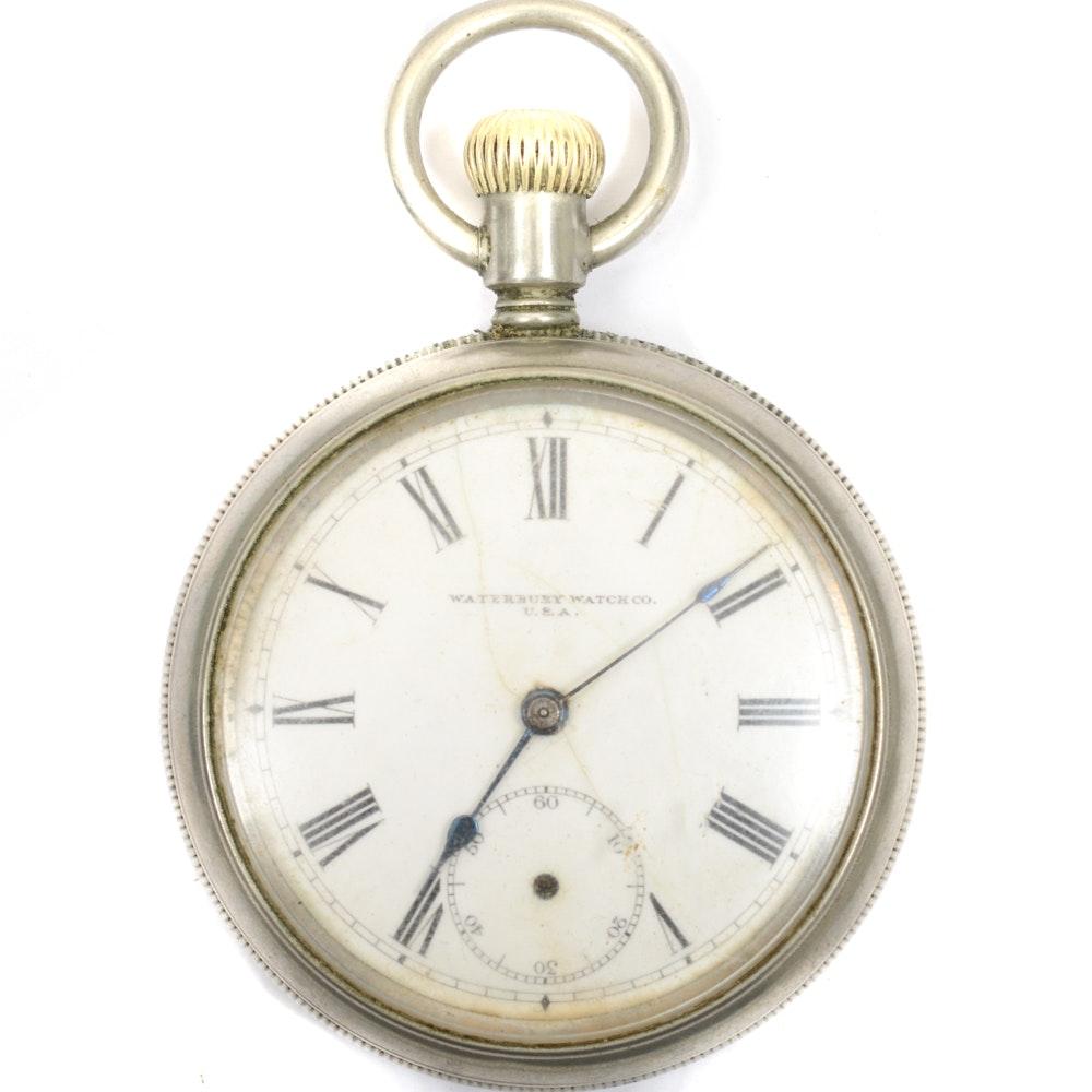Vintage Waterbury Pocket Watch