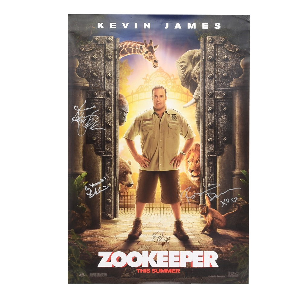 """Zookeeper"" Signed Movie Poster  COA"
