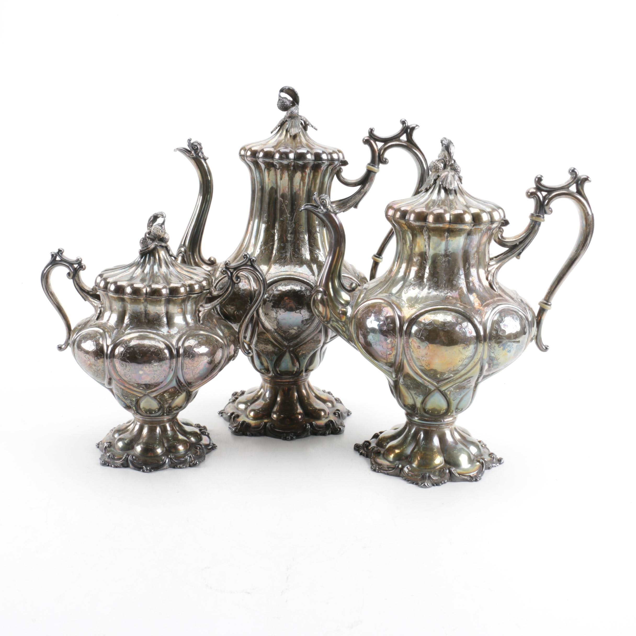 Reed & Barton Silver Plated Coffee and Tea Service