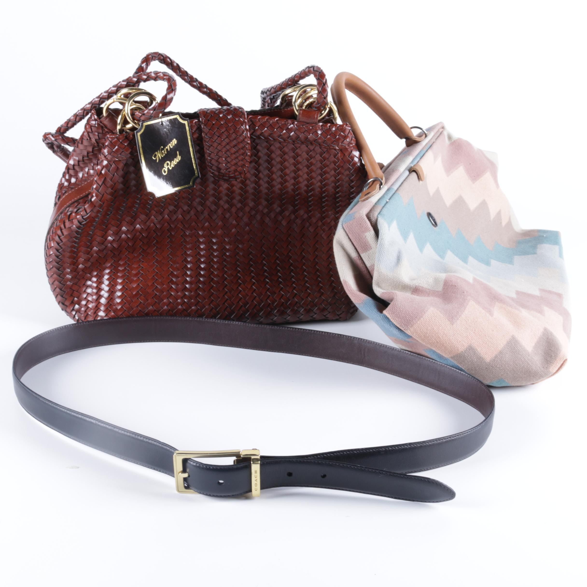 Vintage Handbags and Coach Belt