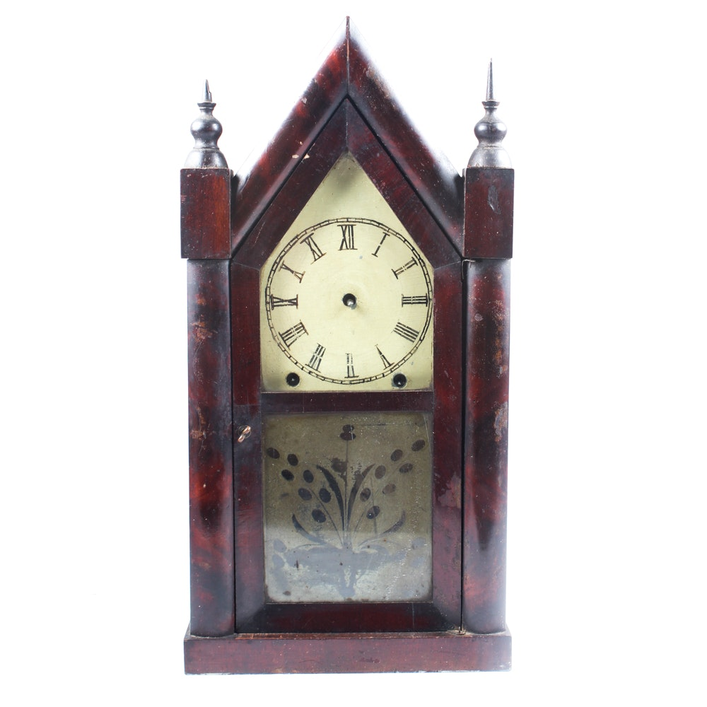 Jerome and Co. Double Steeplee Mantel Clock