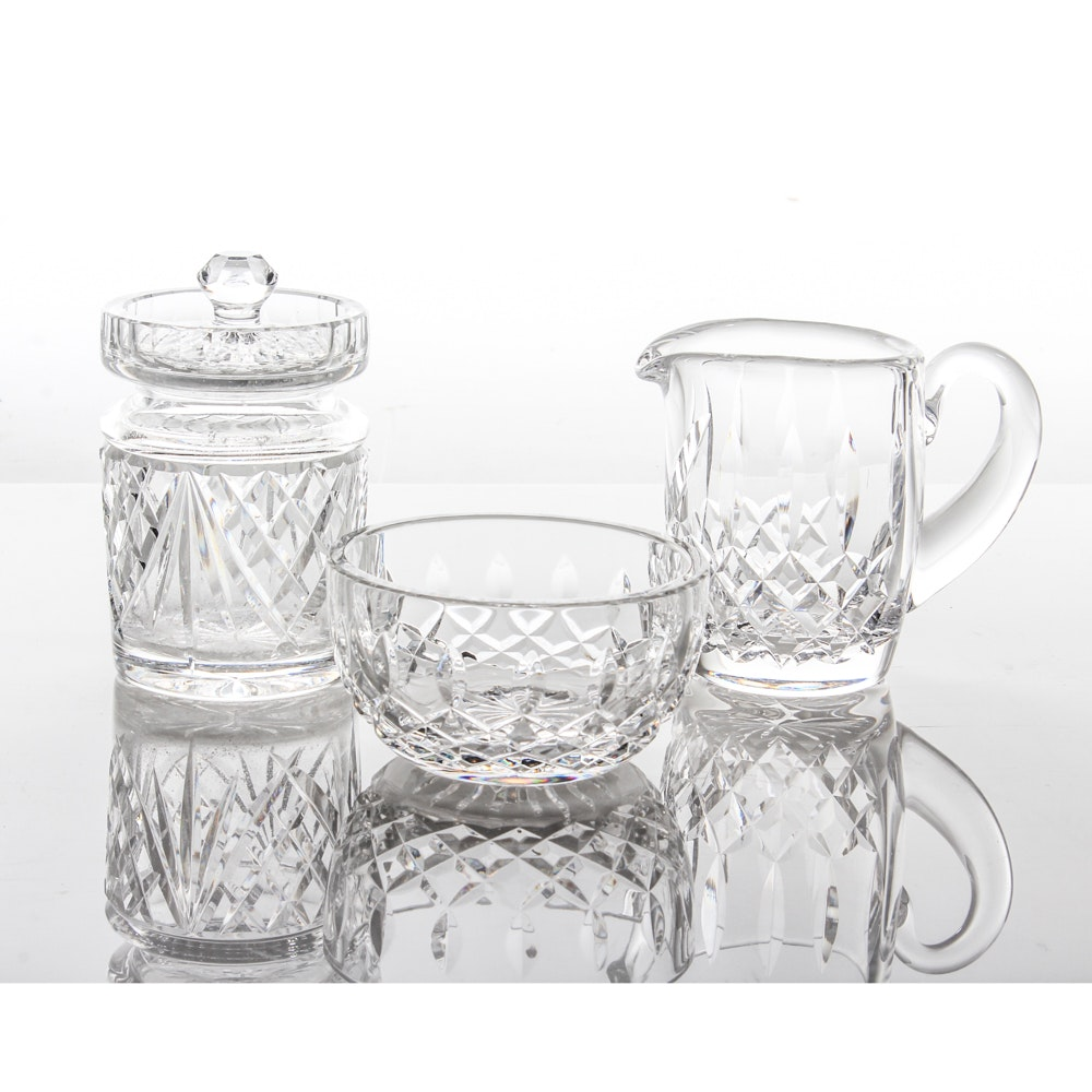 "Waterford Crystal Selection Featuring ""Lismore"""