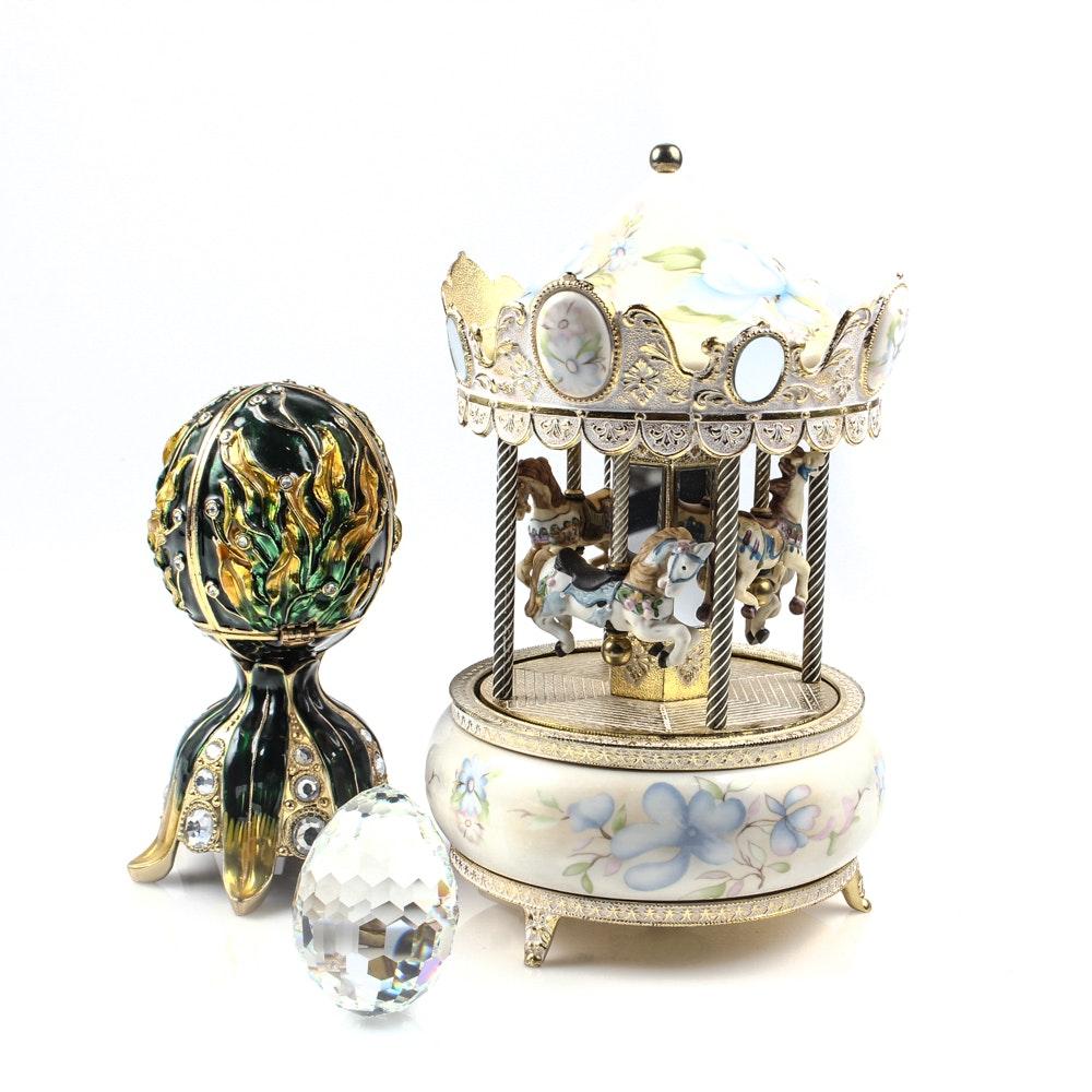 Swarovski and More Decorative Collectibles