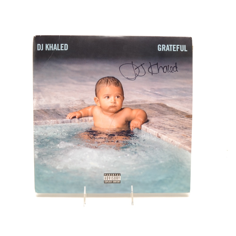 DJ Khaled Signed Album Cover