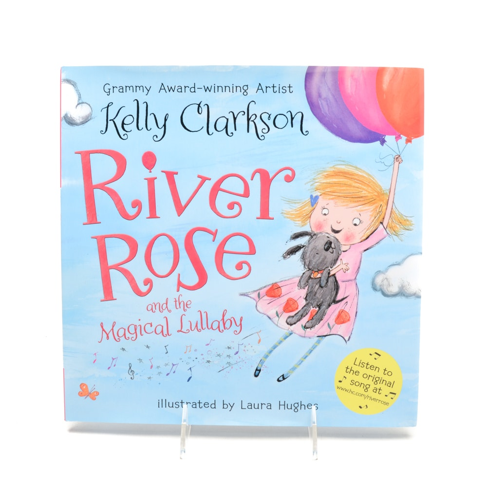 Kelly Clarkson Signed Children's Book