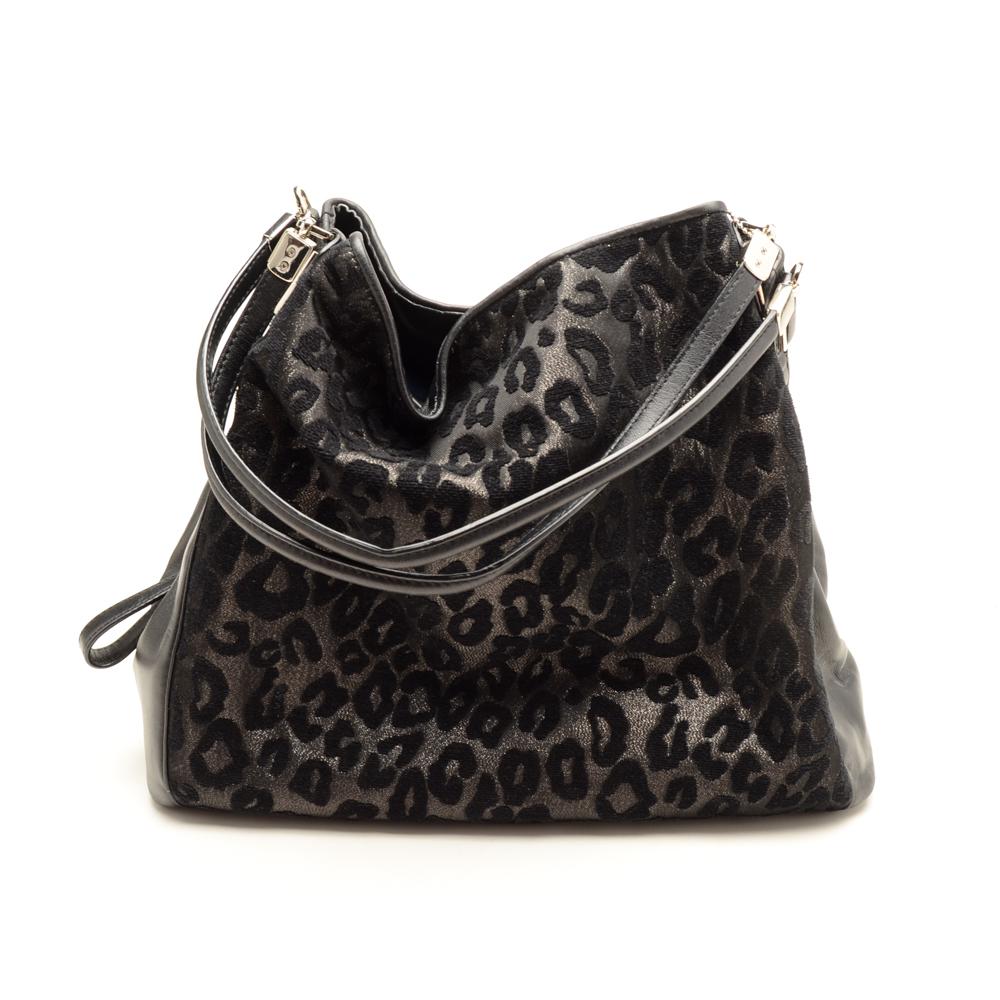7b0602e39ab6 ... ebay coach madison phoebe shoulder bag in black ocelot ff7dc b030a