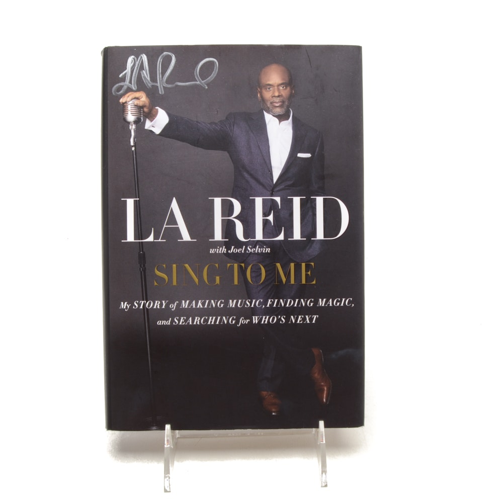 "L.A. Reid Signed First Edition of ""Sing To Me"""
