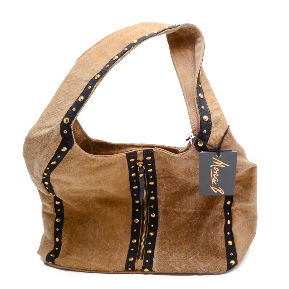 Mona B Denim Shoulder Bag