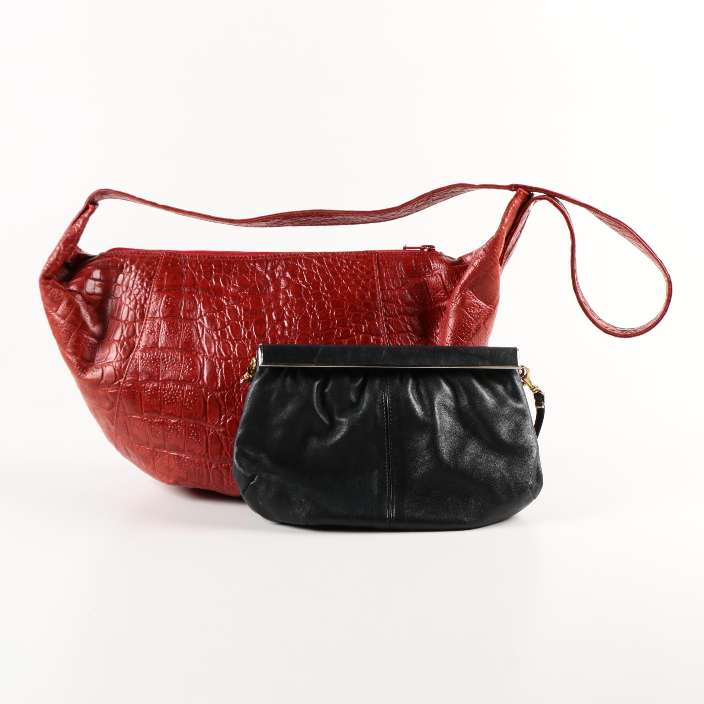 Italian Made Leather Shoulder Bag