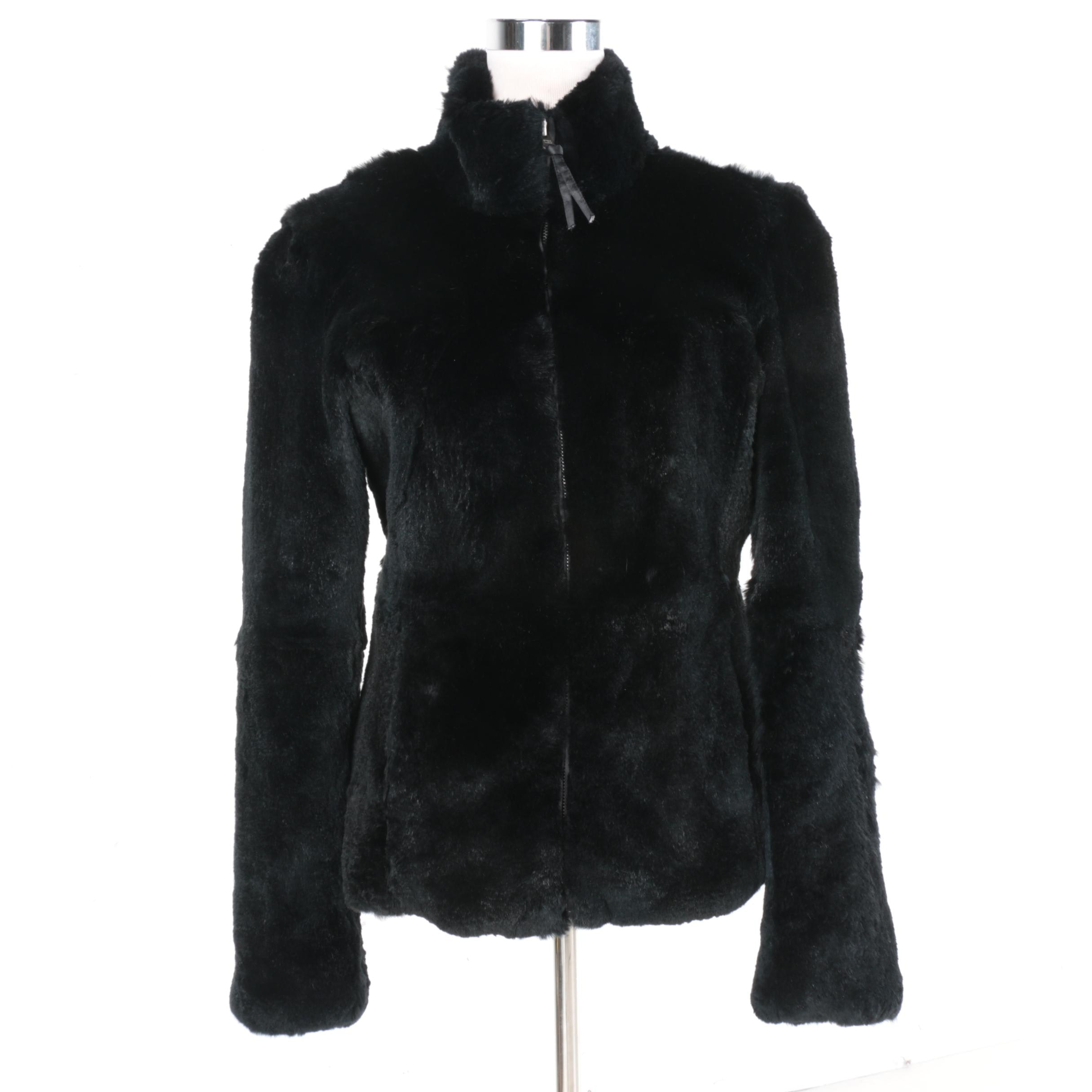 Women's Sheared Beaver Fur Jacket