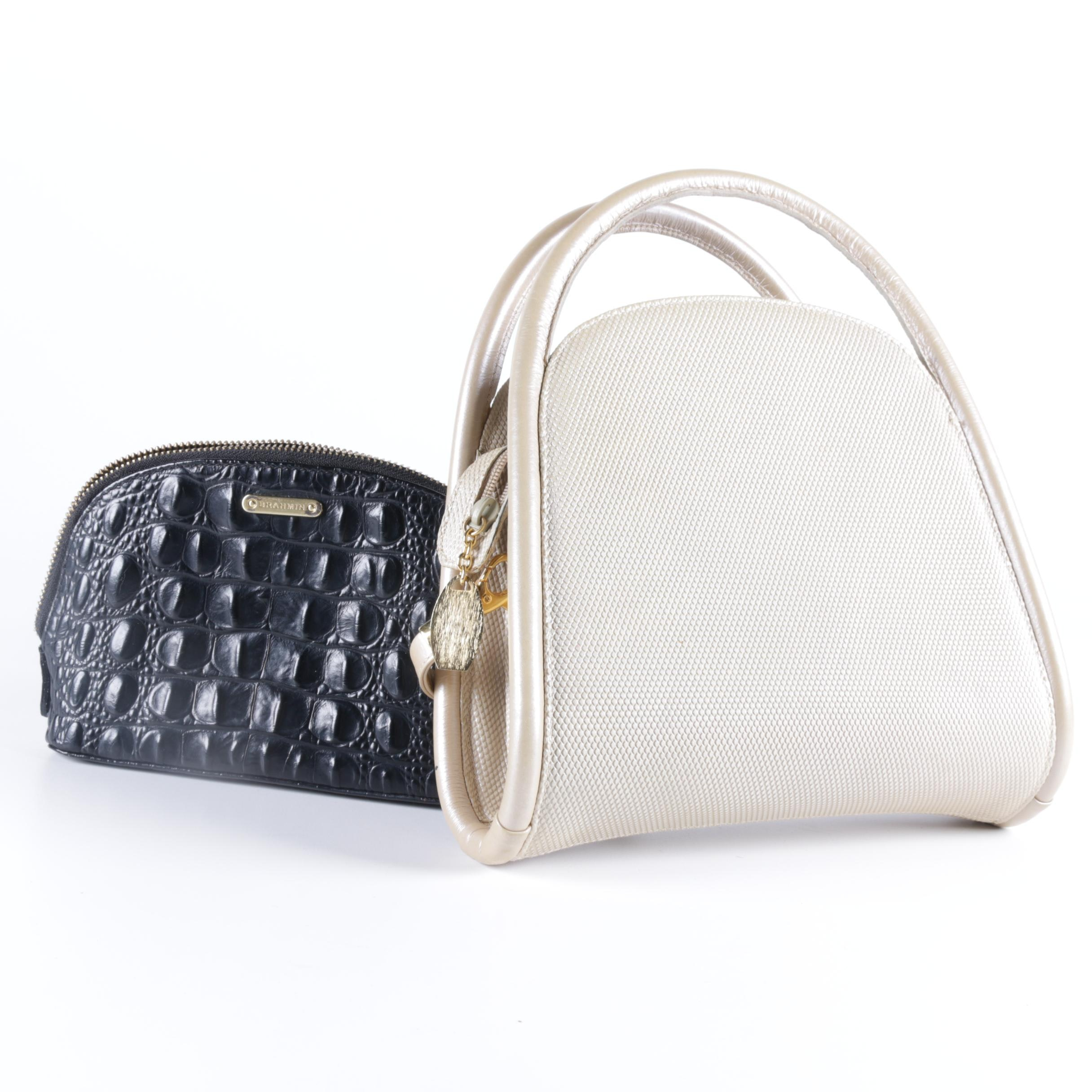 Brahmin and Stuart Weitzman Leather Handbags